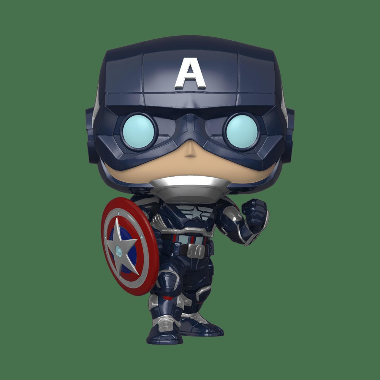 Captain America (627) Avengers Gamerverse Marvel Pop Vinyl - 1