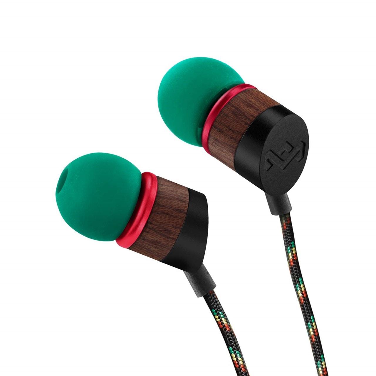House Of Marley Uplift Rasta Earphones - 1