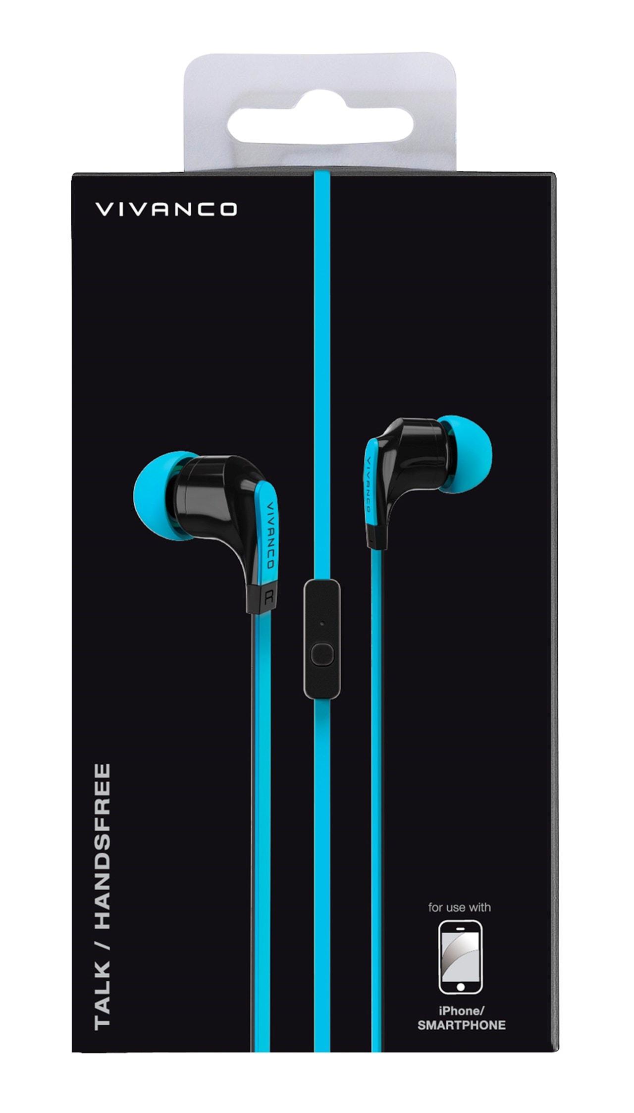 Vivanco Talk 4 Blue Earphones - 2