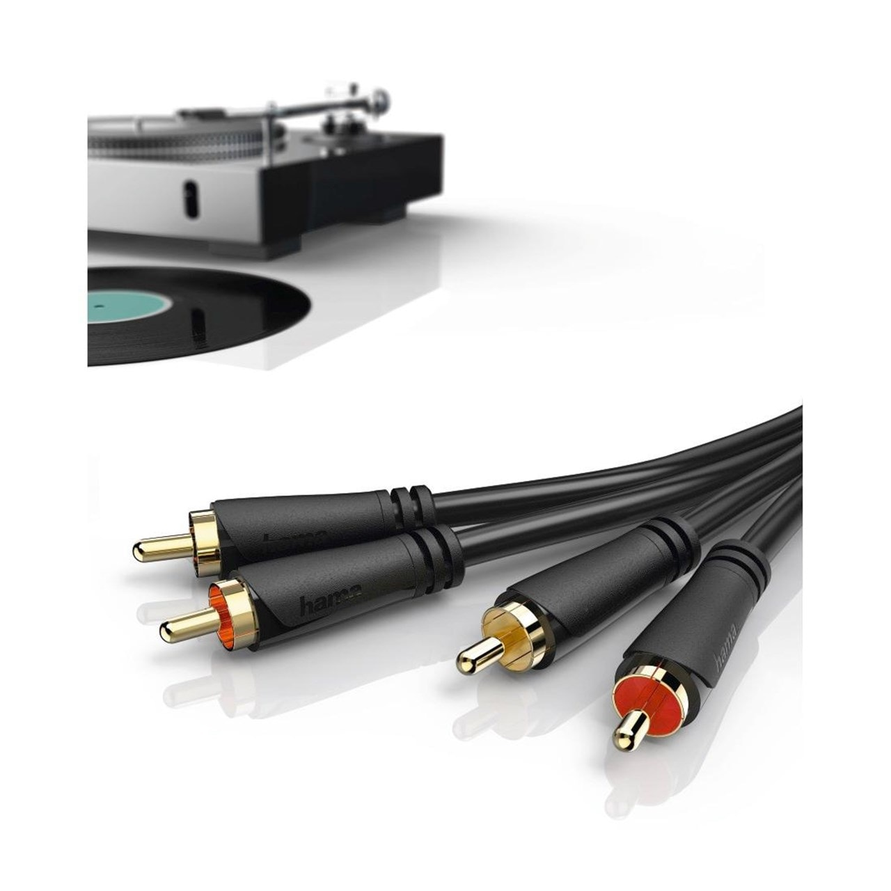 Hama RCA To RCA 1.5m Cable - 2