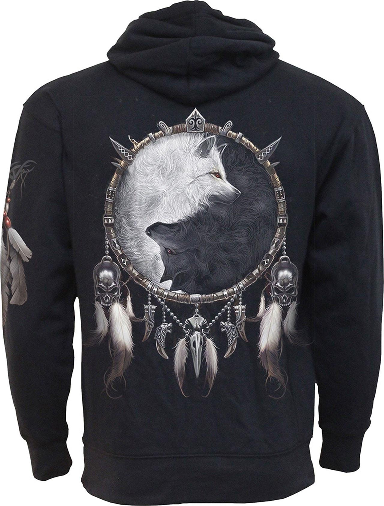 Spiral: Hoodie Wolf Chi: Side Pocket Hoodie (Extra Large) - 2