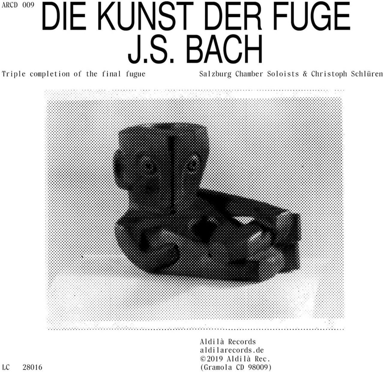 J.S. Bach: Die Kunst Der Fuge: Triple Completeion of the Final Fugue - 1