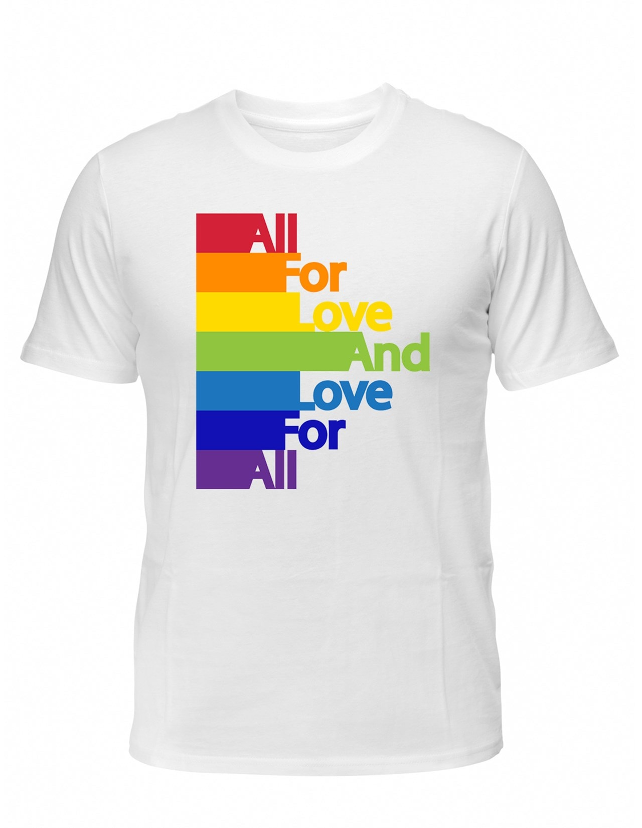 LGBT Pride: All For Love & Love For All (Small) - 1