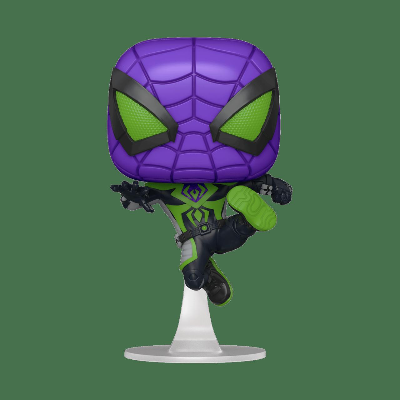 Miles Morales: Purple Suit: Spider-Man Game: Marvel Pop Vinyl - 1