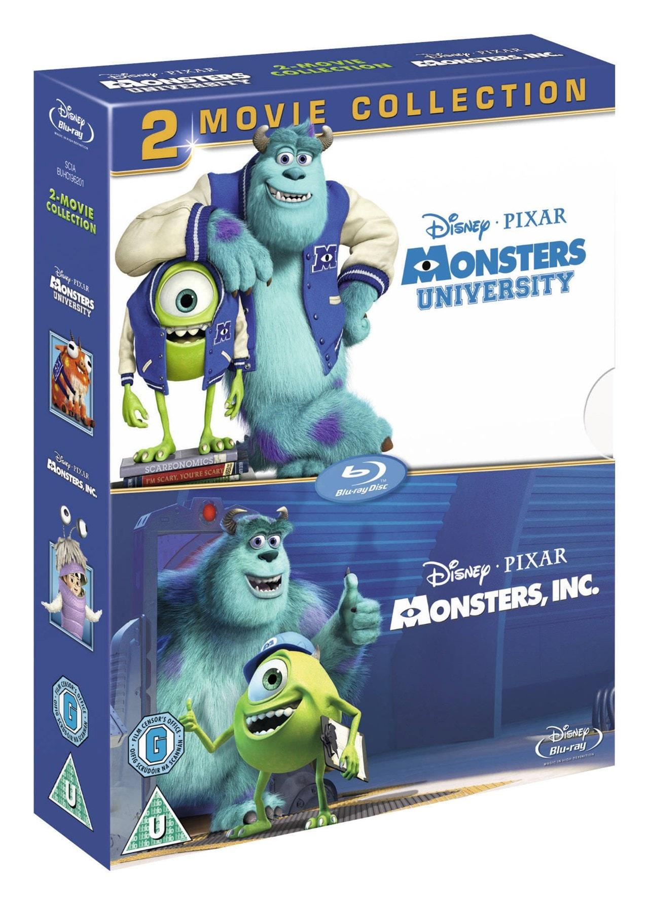 Monsters, Inc./Monsters University - 2