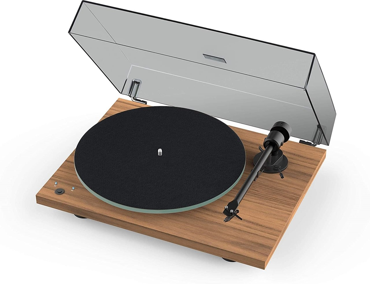 Pro-Ject T1 Phono SB Walnut Turntable - 2