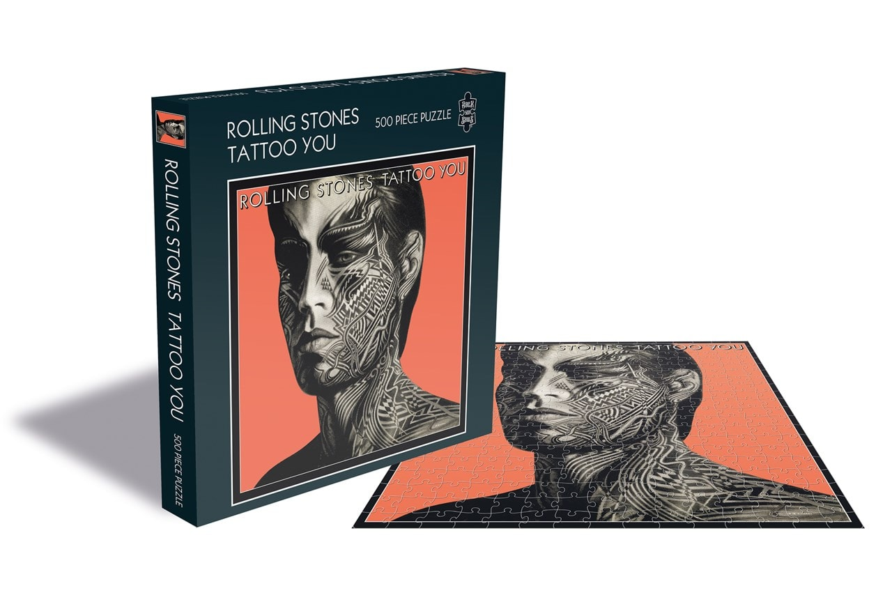 Rolling Stones: Tattoo You: 500 Piece Jigsaw Puzzle - 1