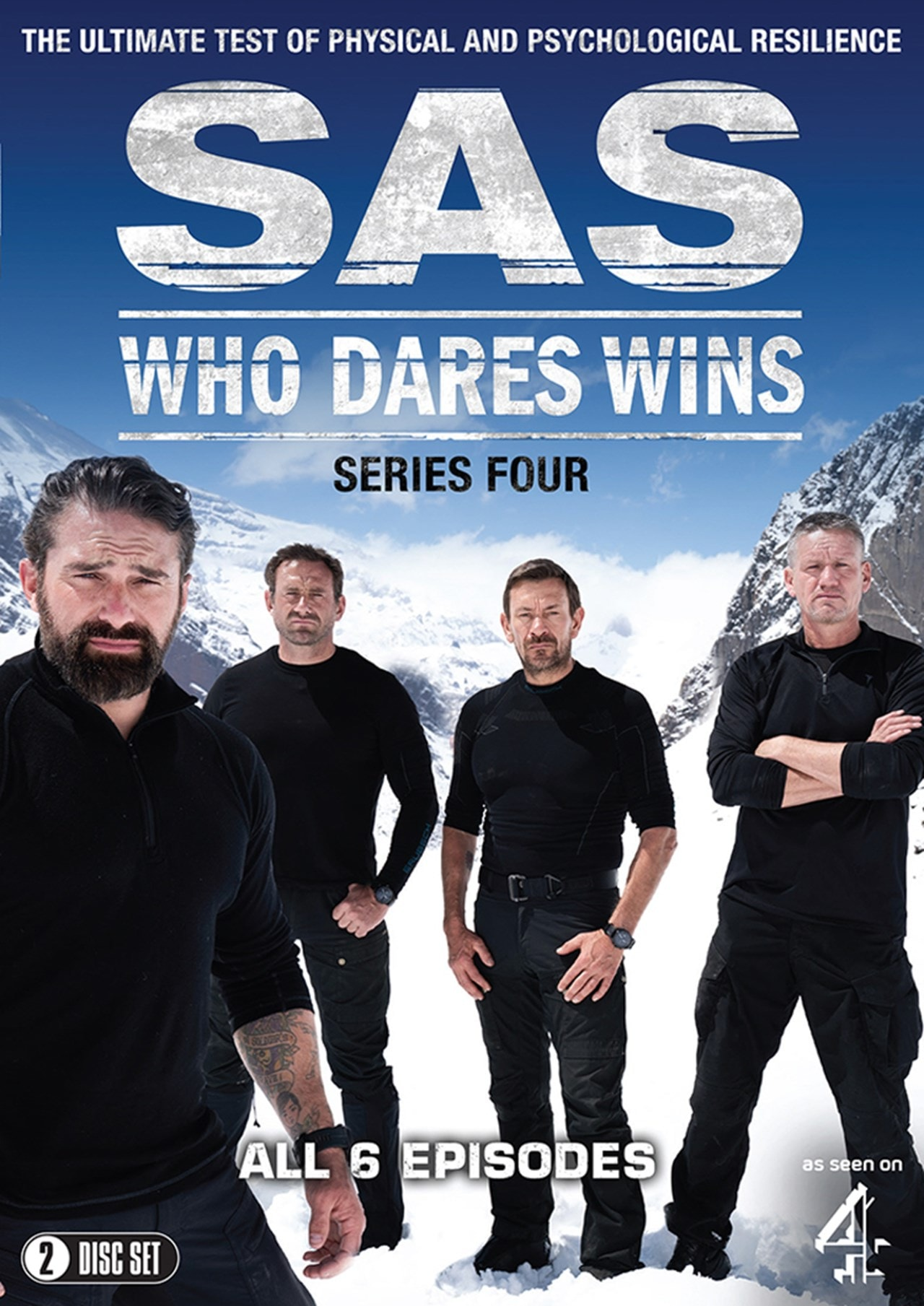 SAS: Who Dares Wins: Series Four - 1