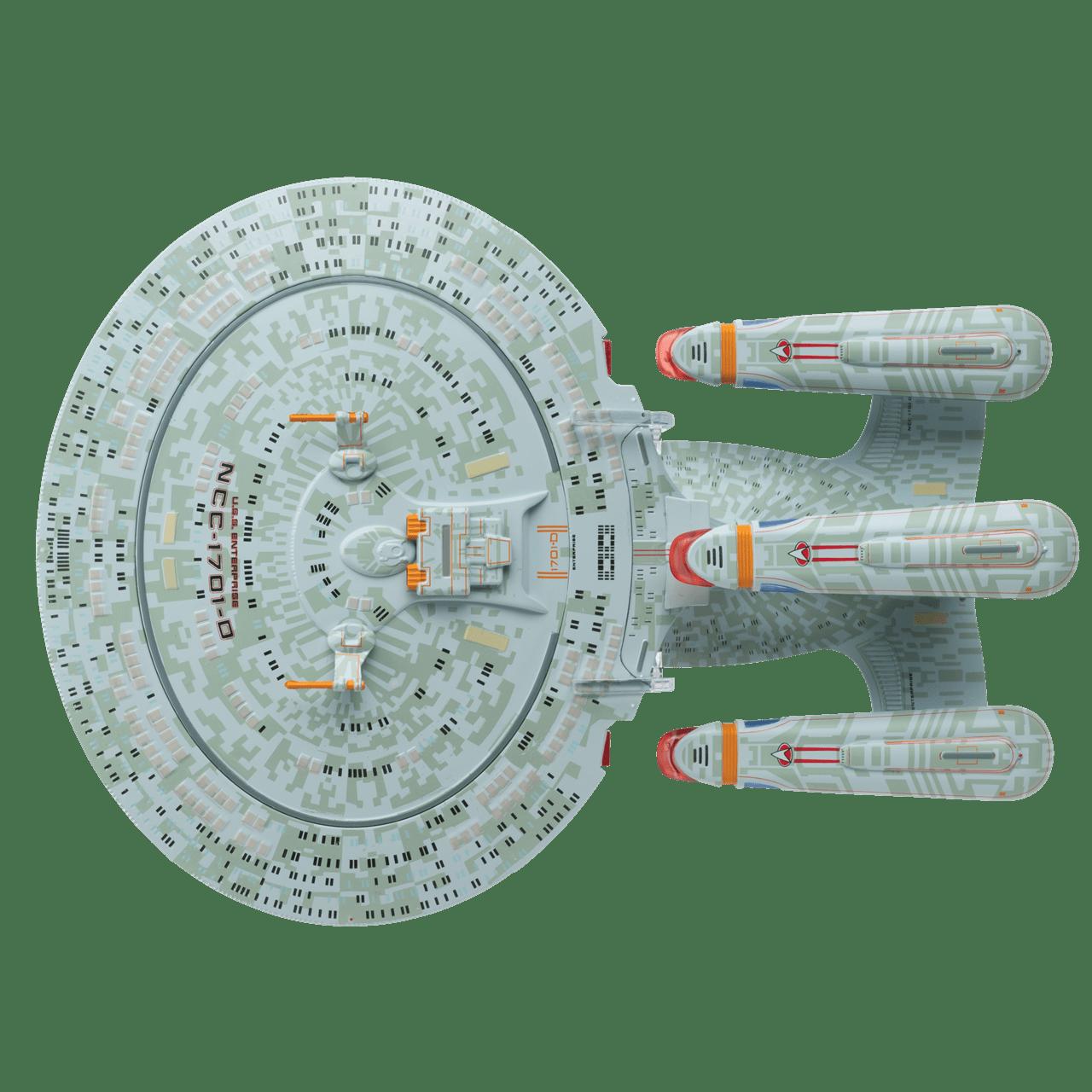 Star Trek: U.S.S. Enterprise NCC-1701-D Dreadnought Ship XL Hero Collector - 2