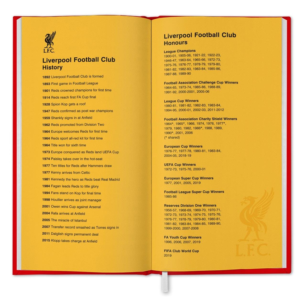 Liverpool FC: Football 2021 Diary - 2