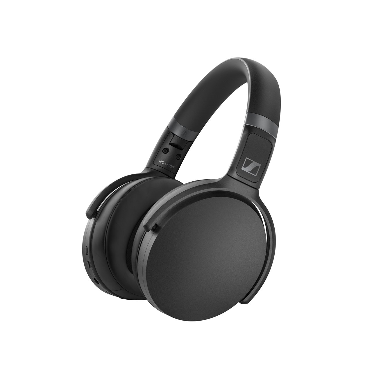 Sennheiser HD 450BT Black Active Noise Cancelling Bluetooth Headphones - 1