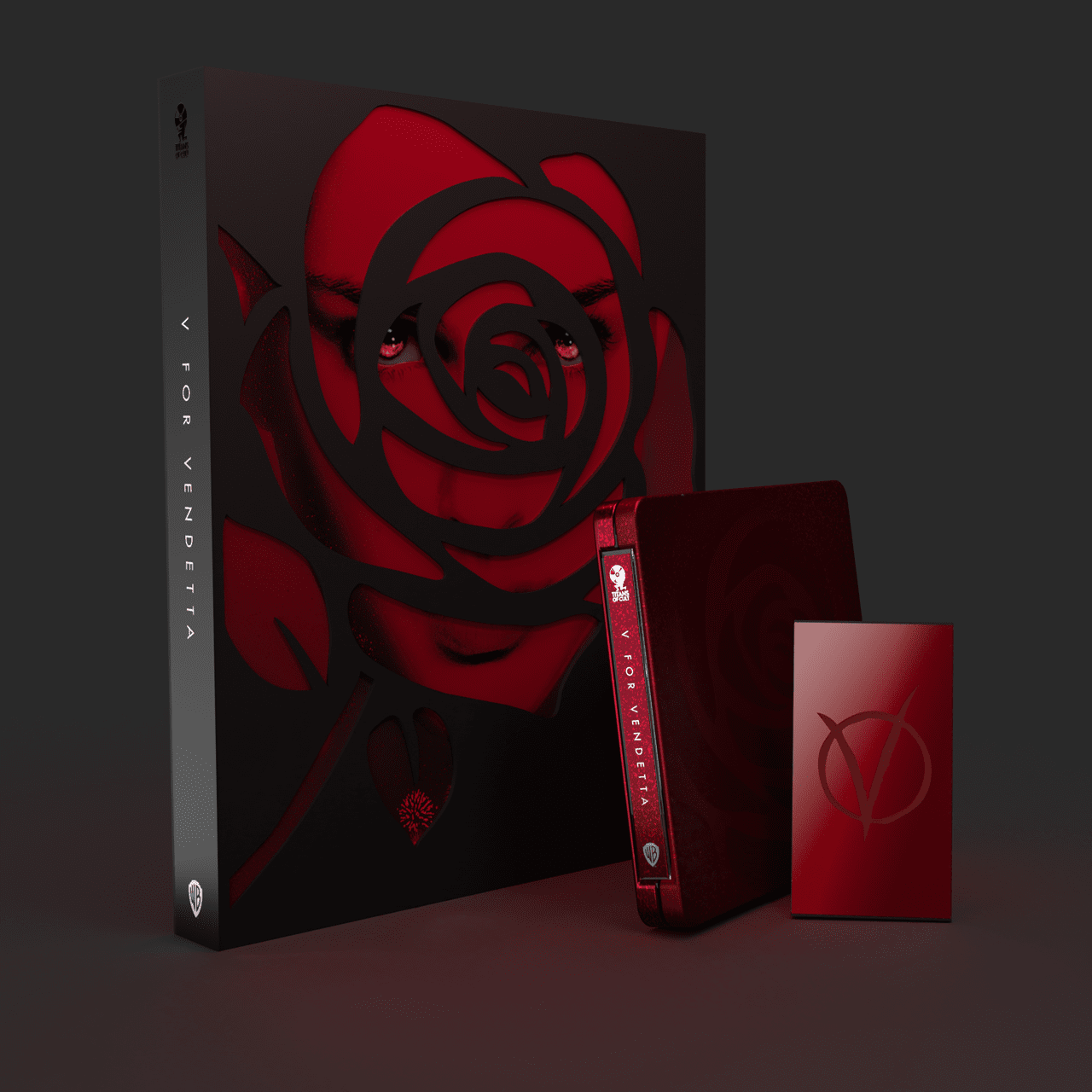 V for Vendetta Titans of Cult Limited Edition 4K Steelbook - 2