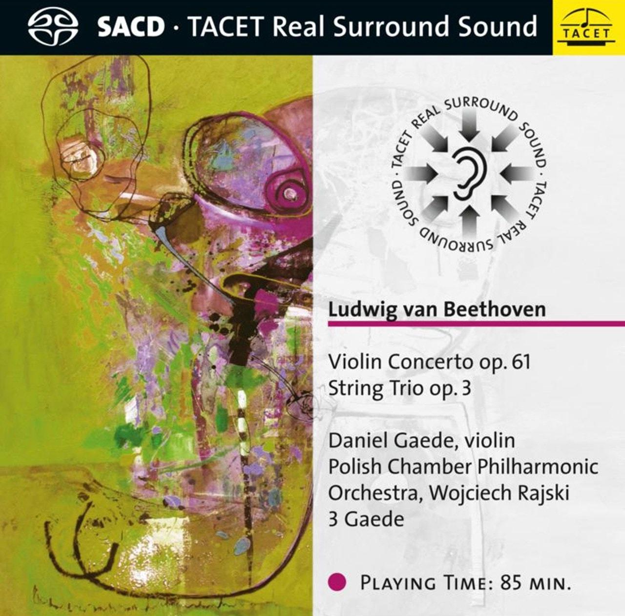 Ludwig Van Beethoven: Violin Concerto, Op. 61/String Trio... - 1