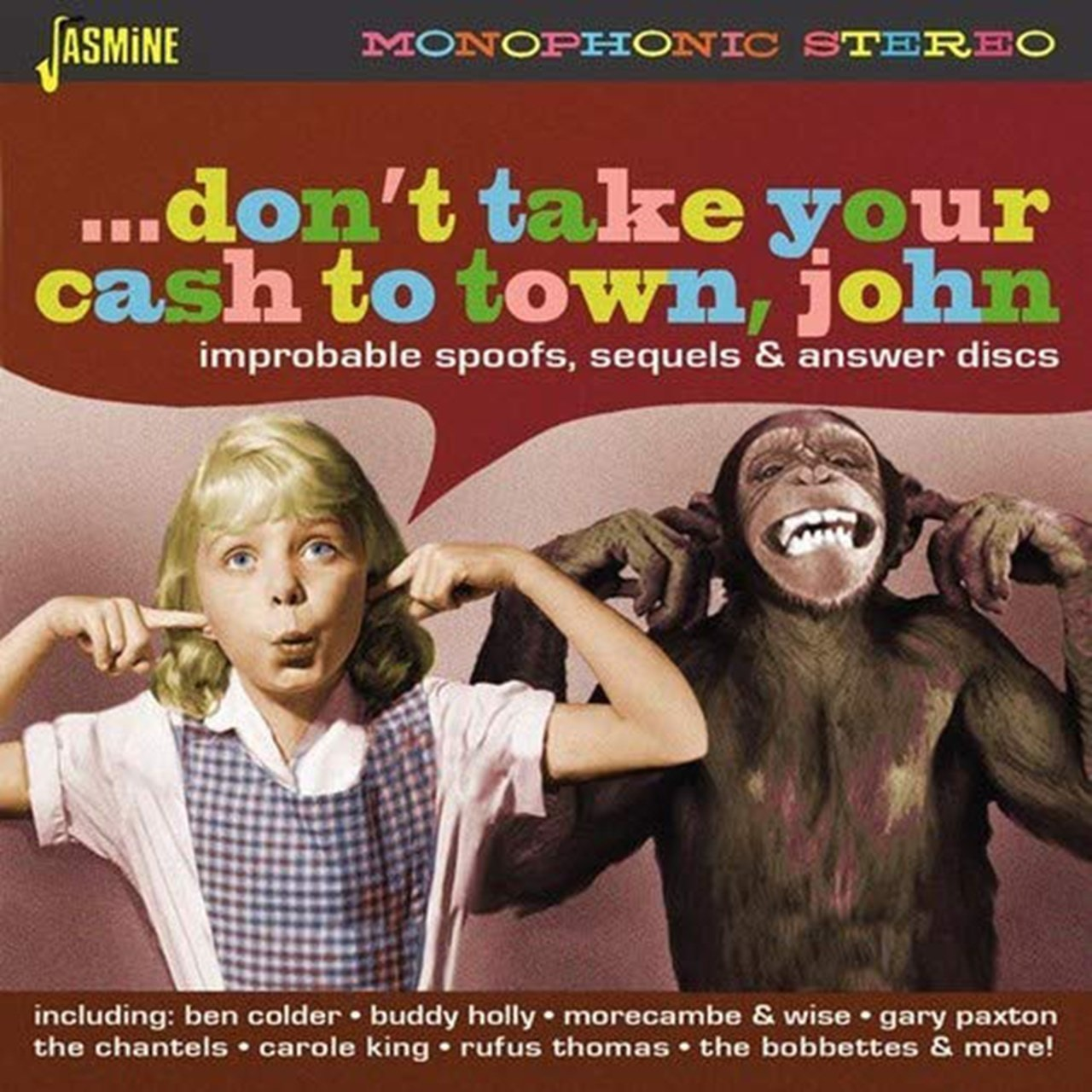...don't Take Your Cash to Town, John: Improbable Spoofs, Sequels & Answer Discs - 1