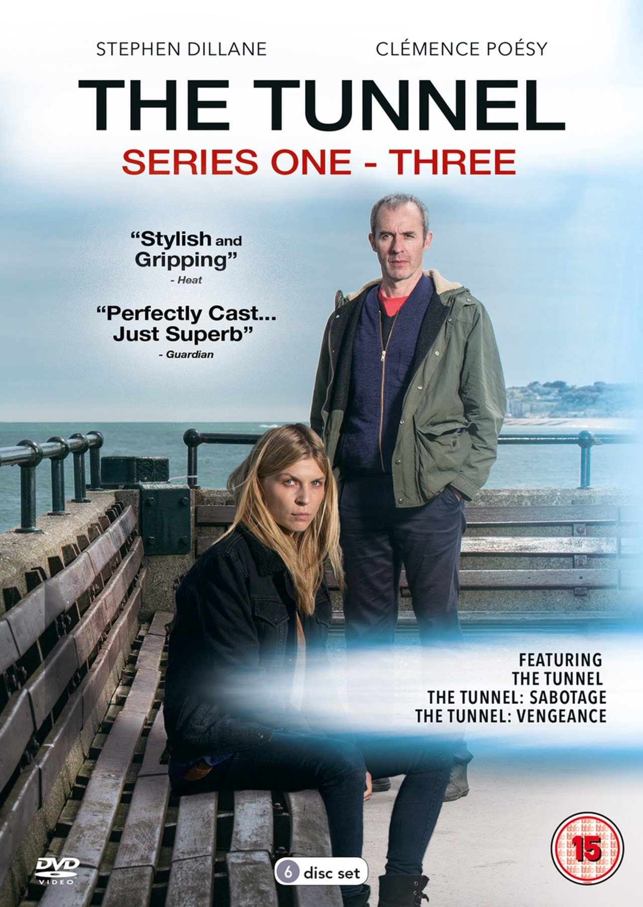 The Tunnel: Series 1 to 3 - 1