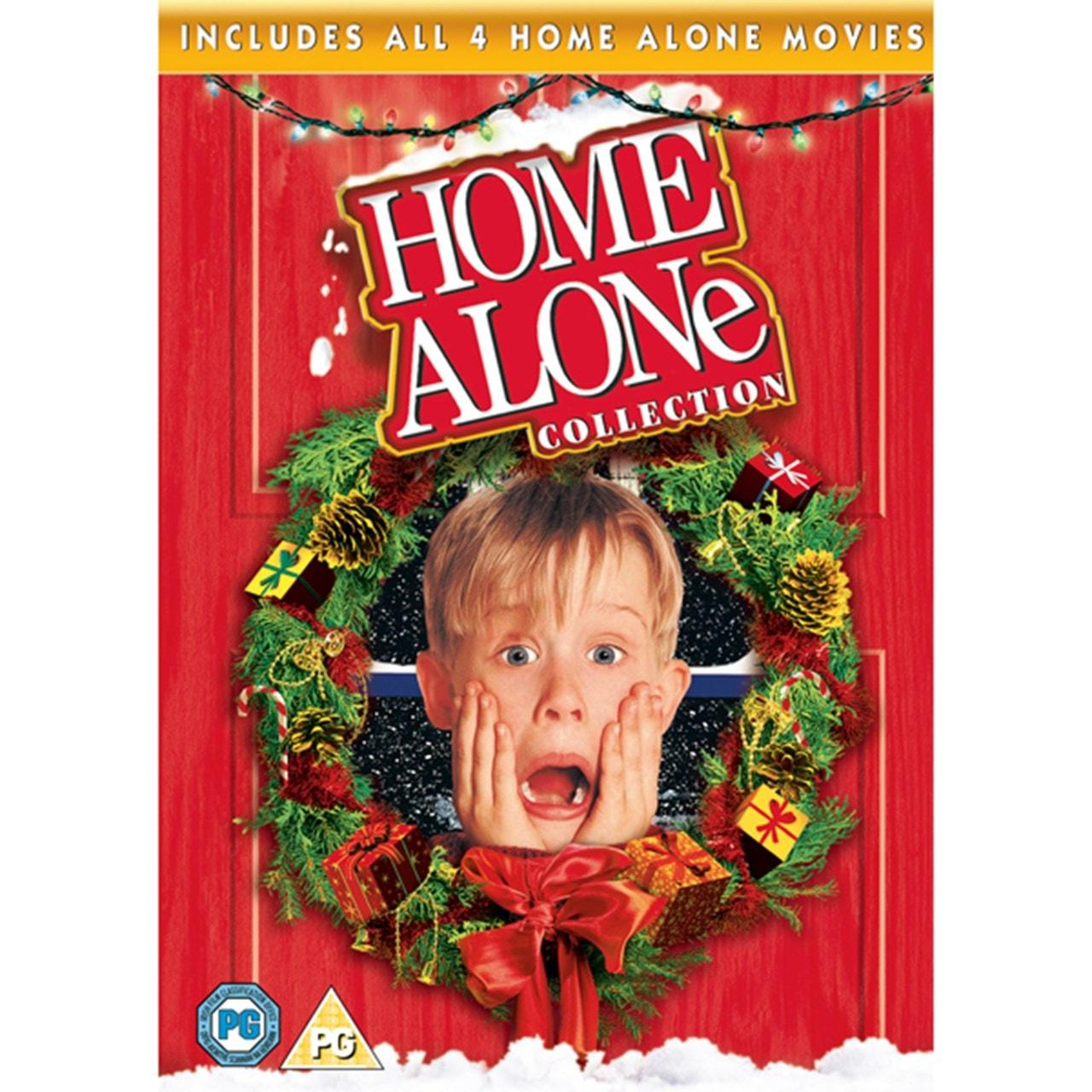 Home Alone/Home Alone 2 /Home Alone 3/Home Alone 4 - 1