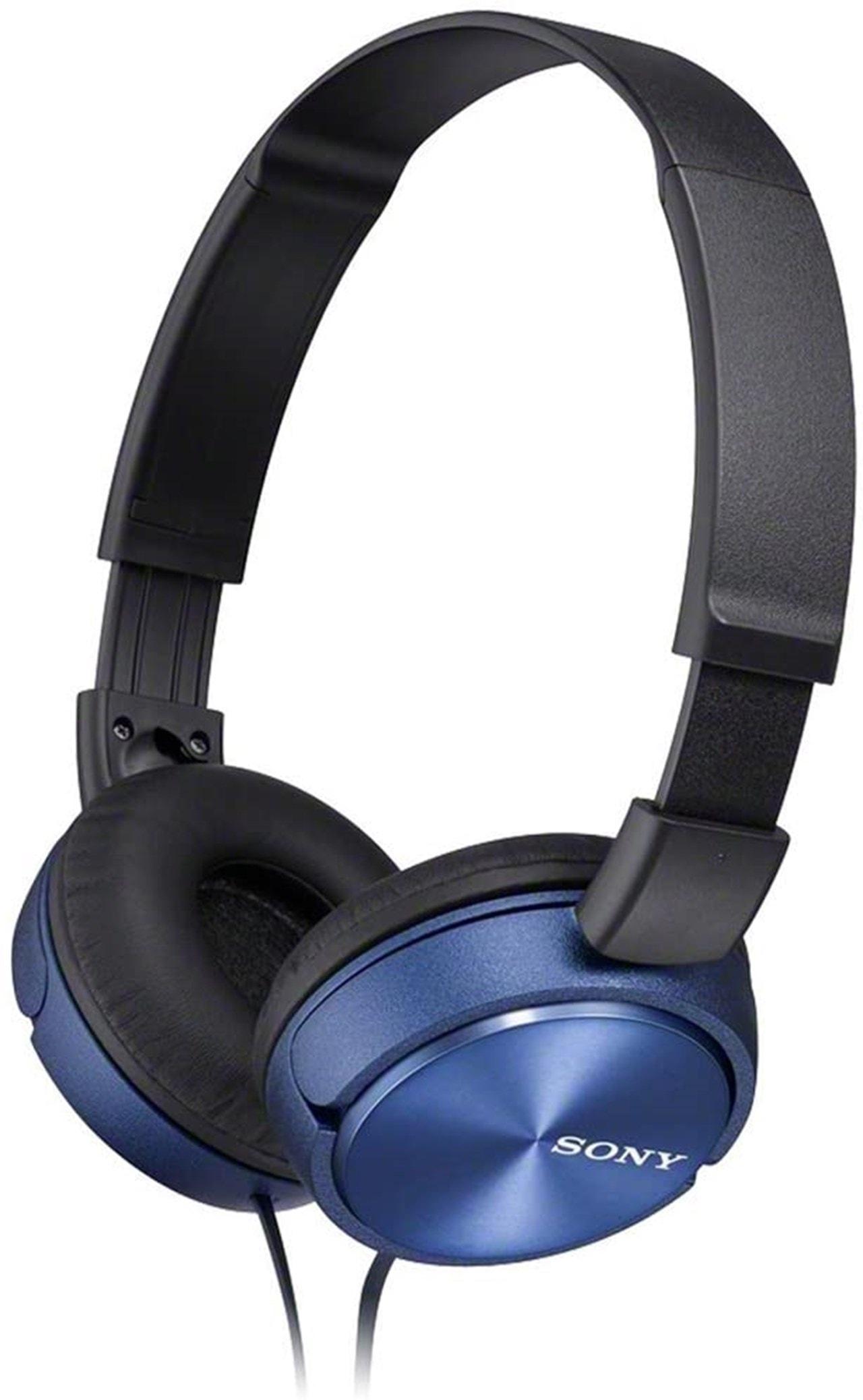 Sony MDRZX310 Blue Headphones - 1