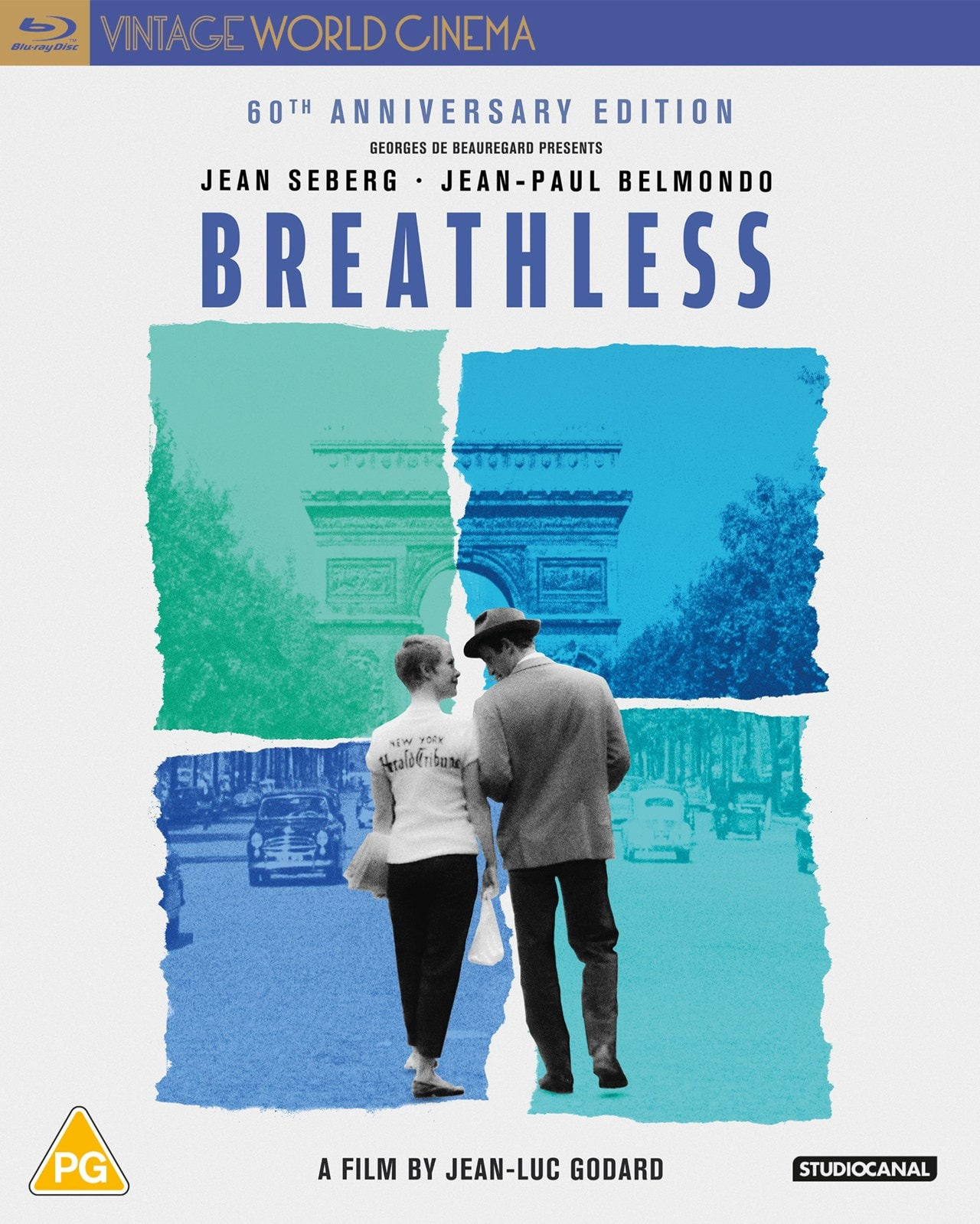 Breathless   Blu-ray   Free shipping over £20   HMV Store