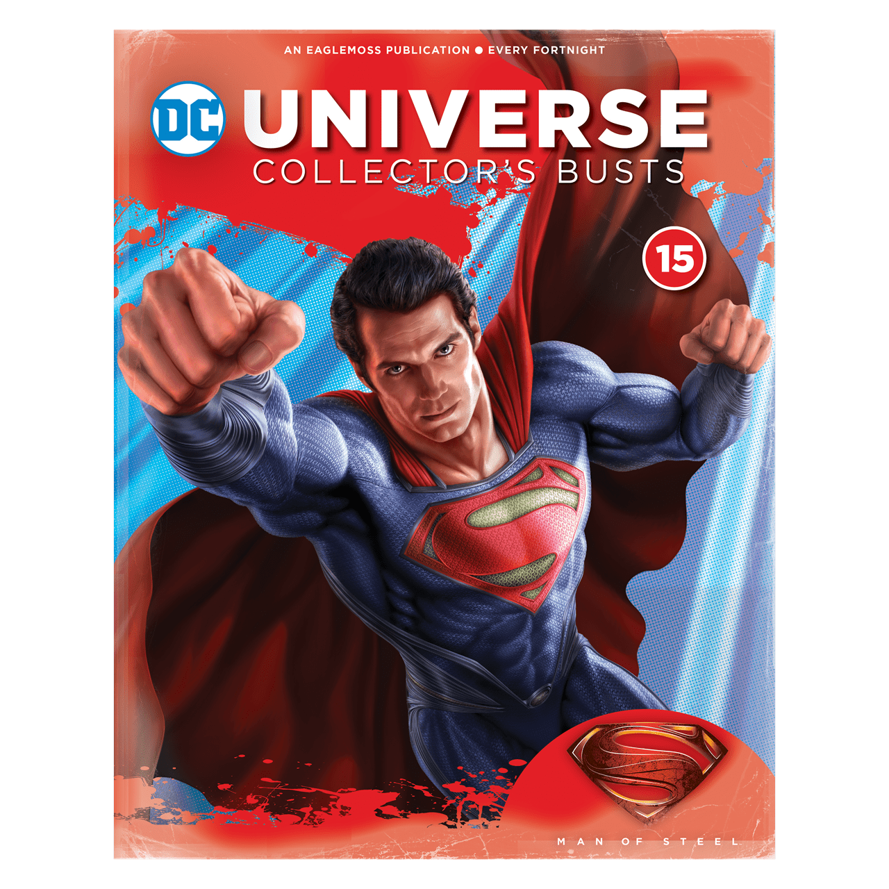 Superman Bust: Man Of Steel: DC Hero Collector - 3
