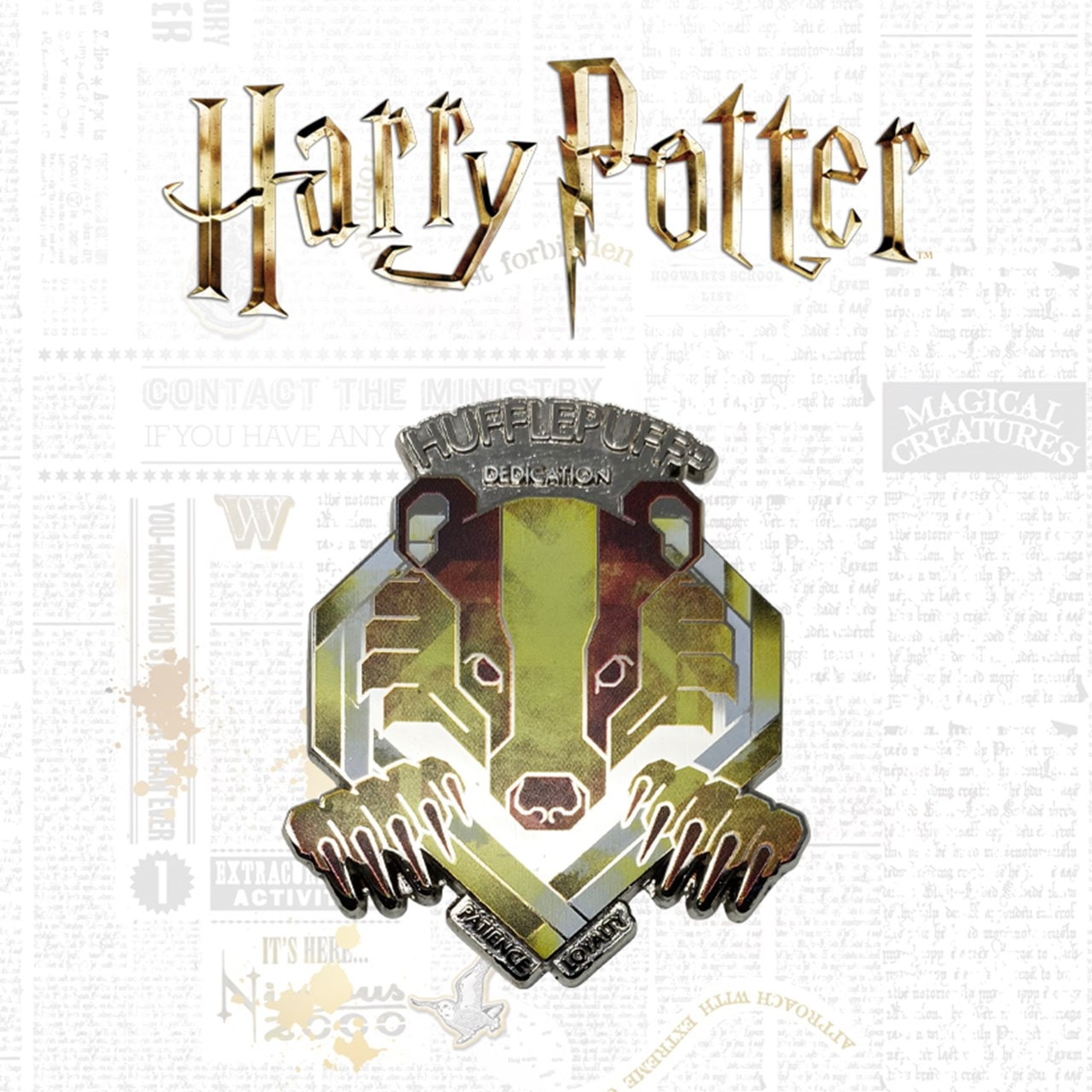 Hufflepuff: Harry Potter Pin Badge - 1