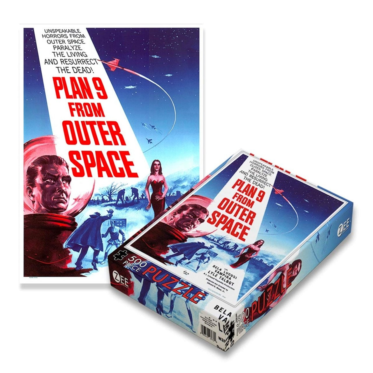 Plan 9 From Outer Space: 500 Piece Jigsaw Puzzle - 1