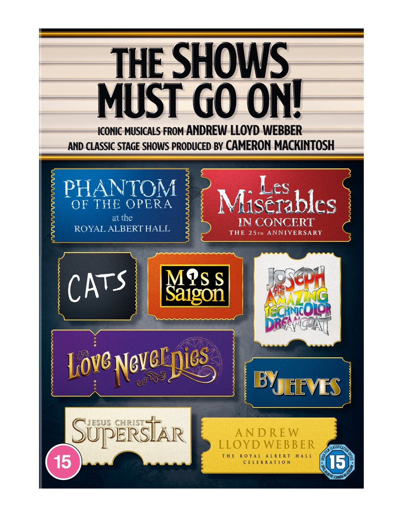 The Shows Must Go On! Ultimate Musicals Collection - 1
