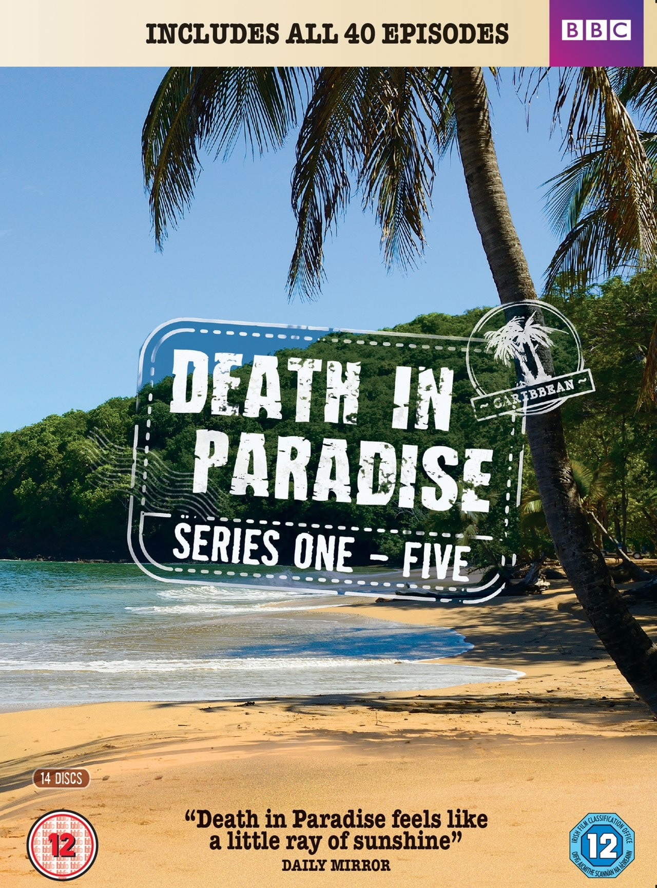 Death in Paradise: Series 1-5 - 1