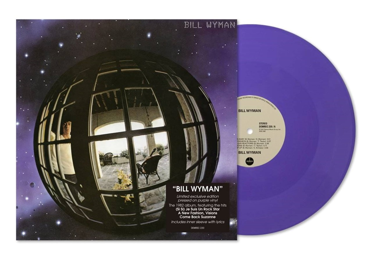 Bill Wyman (hmv Exclusive) Purple Vinyl - 1