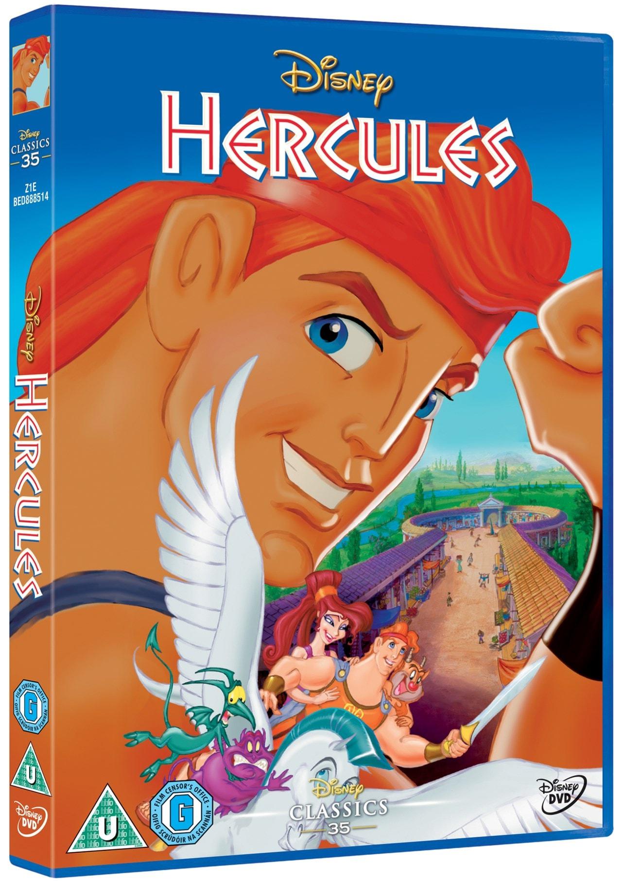 Hercules (Disney) | DVD | Free shipping over £20 | HMV Store