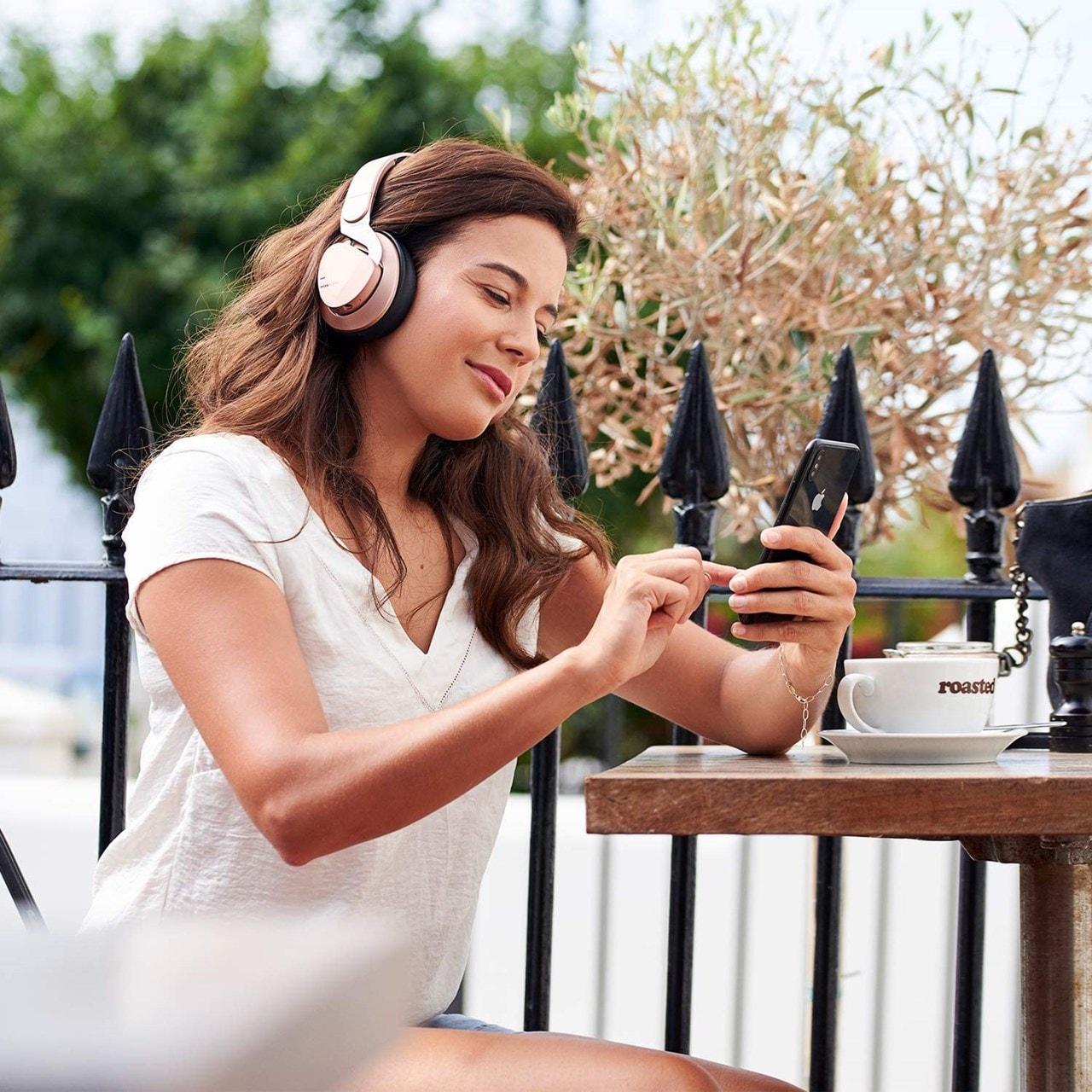 Mixx Audio JX2 Rose Gold Over Ear Bluetooth Headphones - 7