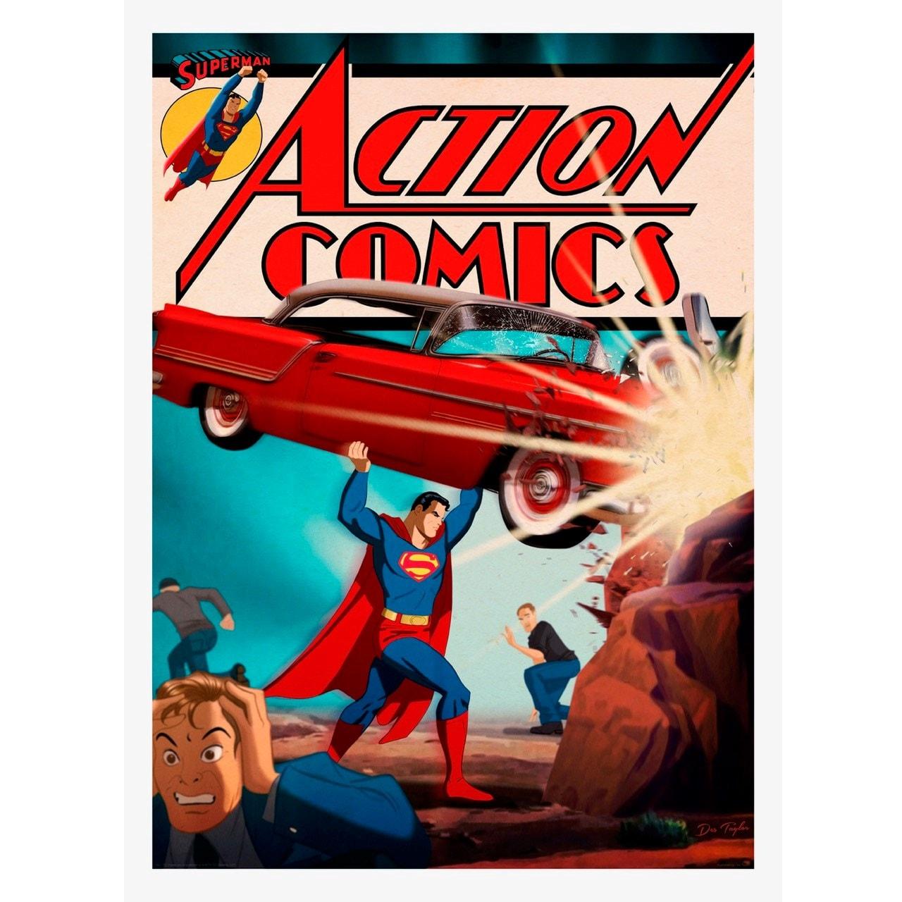 Superman: Action Comics: Limited Edition Art Print - 1