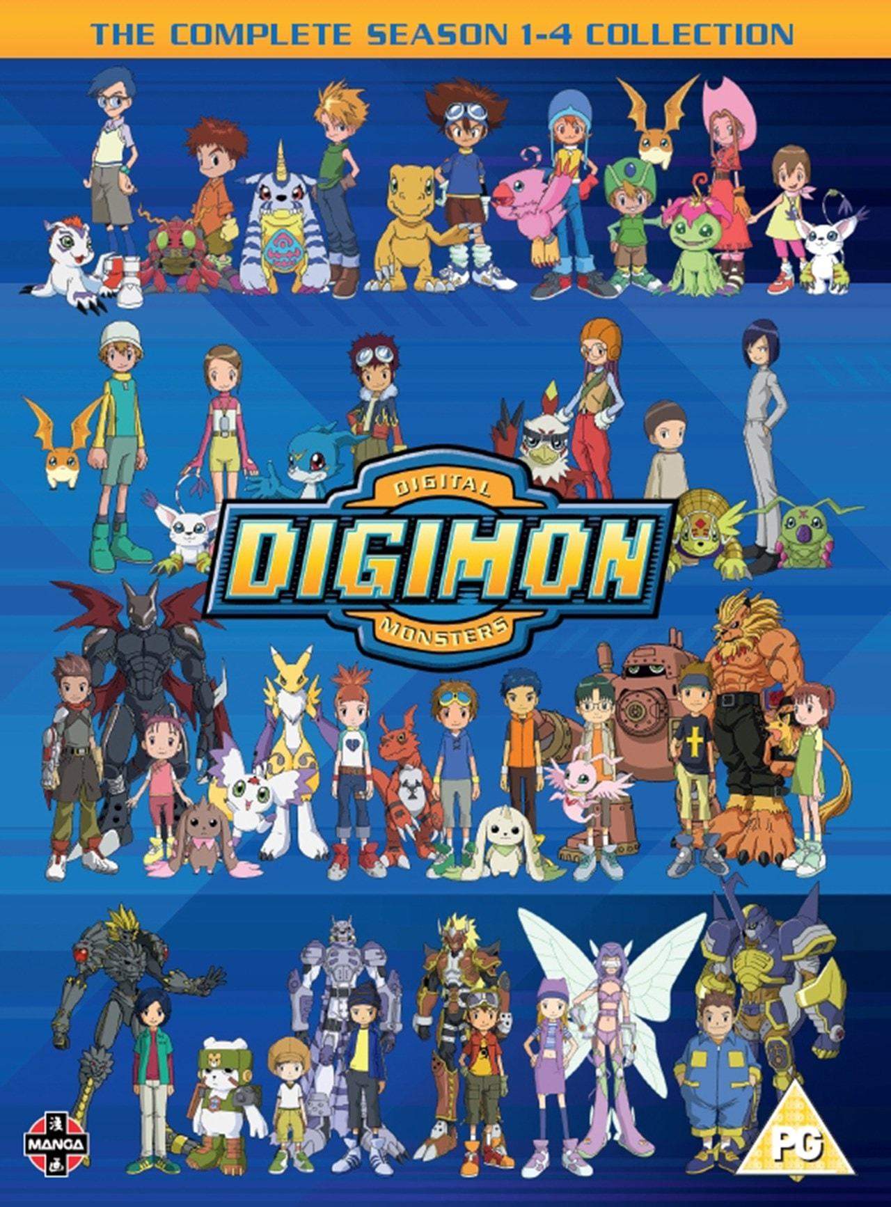 Digimon - Digital Monsters: Seasons 1-4 - 1