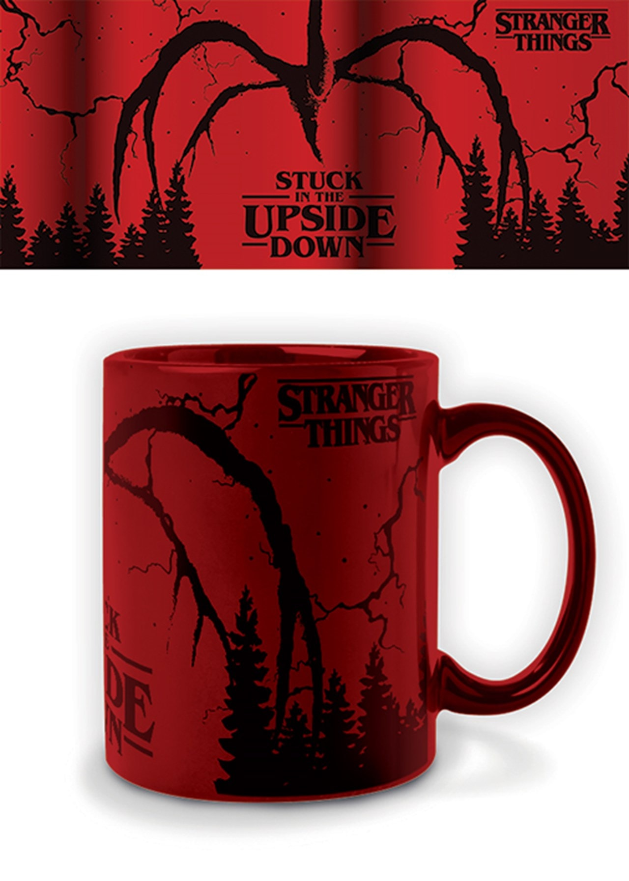 Foil Mug: Stranger Things: Mind Flayer - 1
