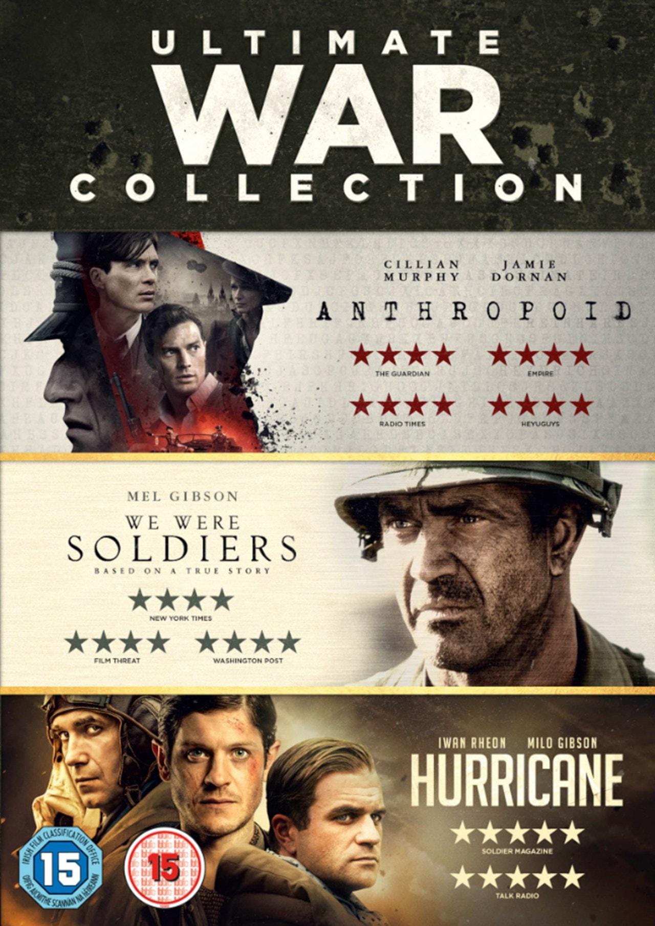 We Were Soldiers/Hurricane/Anthropoid - 1