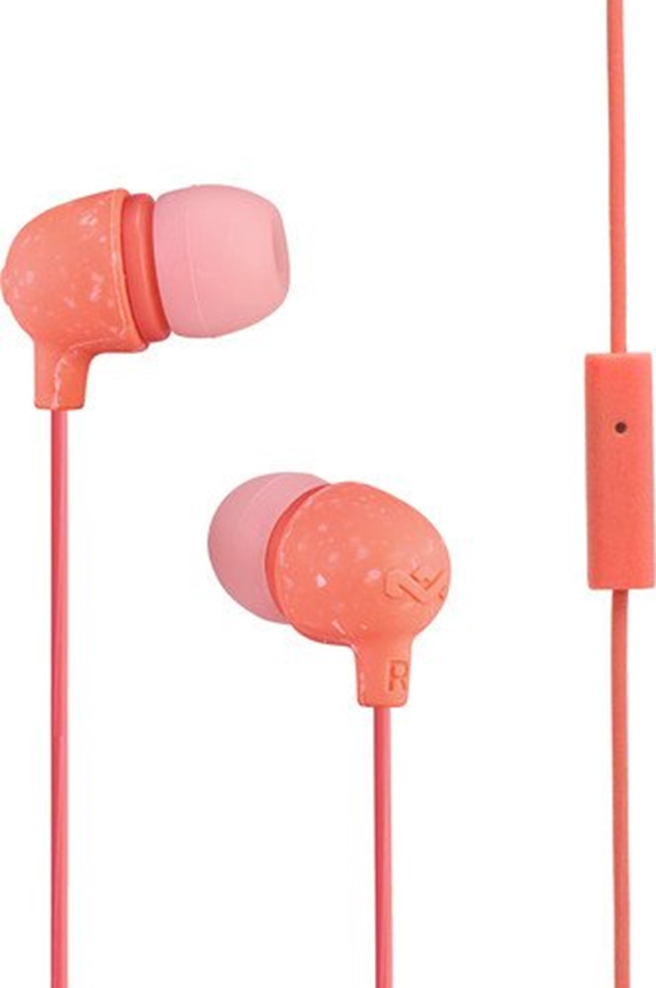 House Of Marley Little Bird Peach Earphones W/Mic - 1