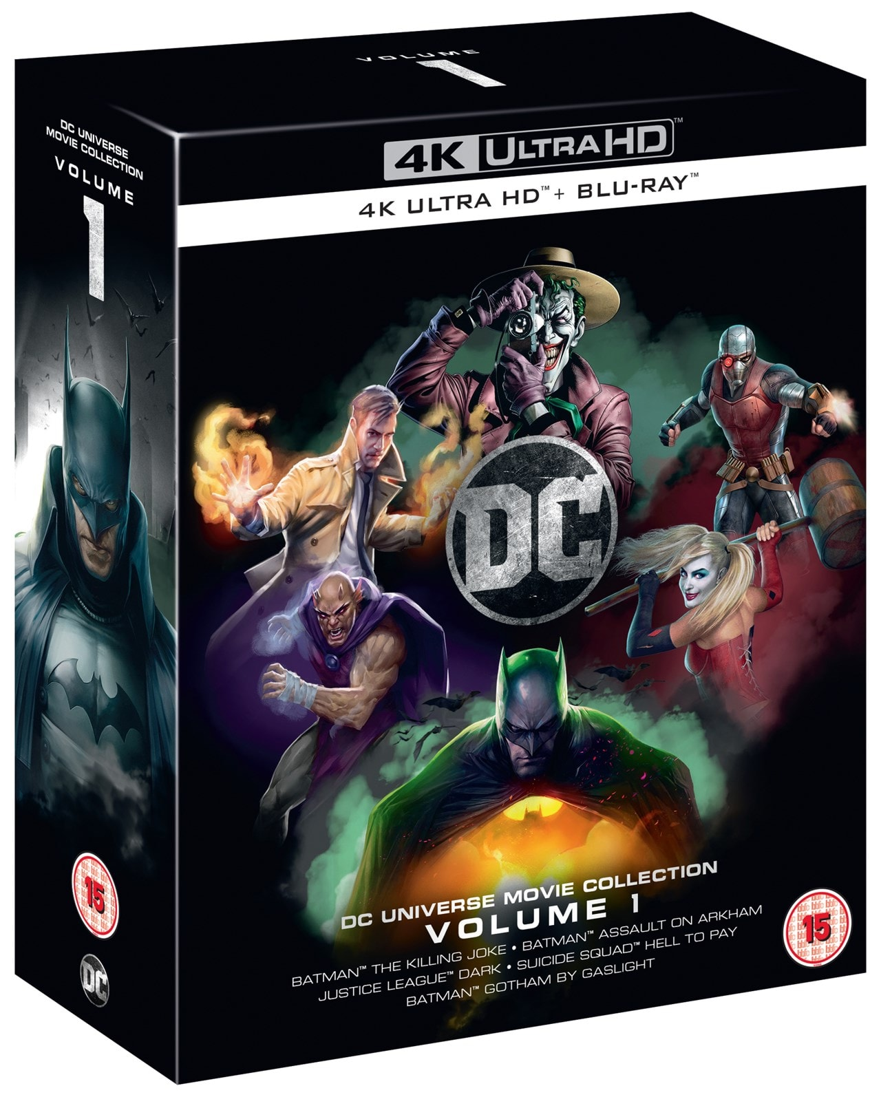 DC Animated Film Collection: Volume 1 - 2