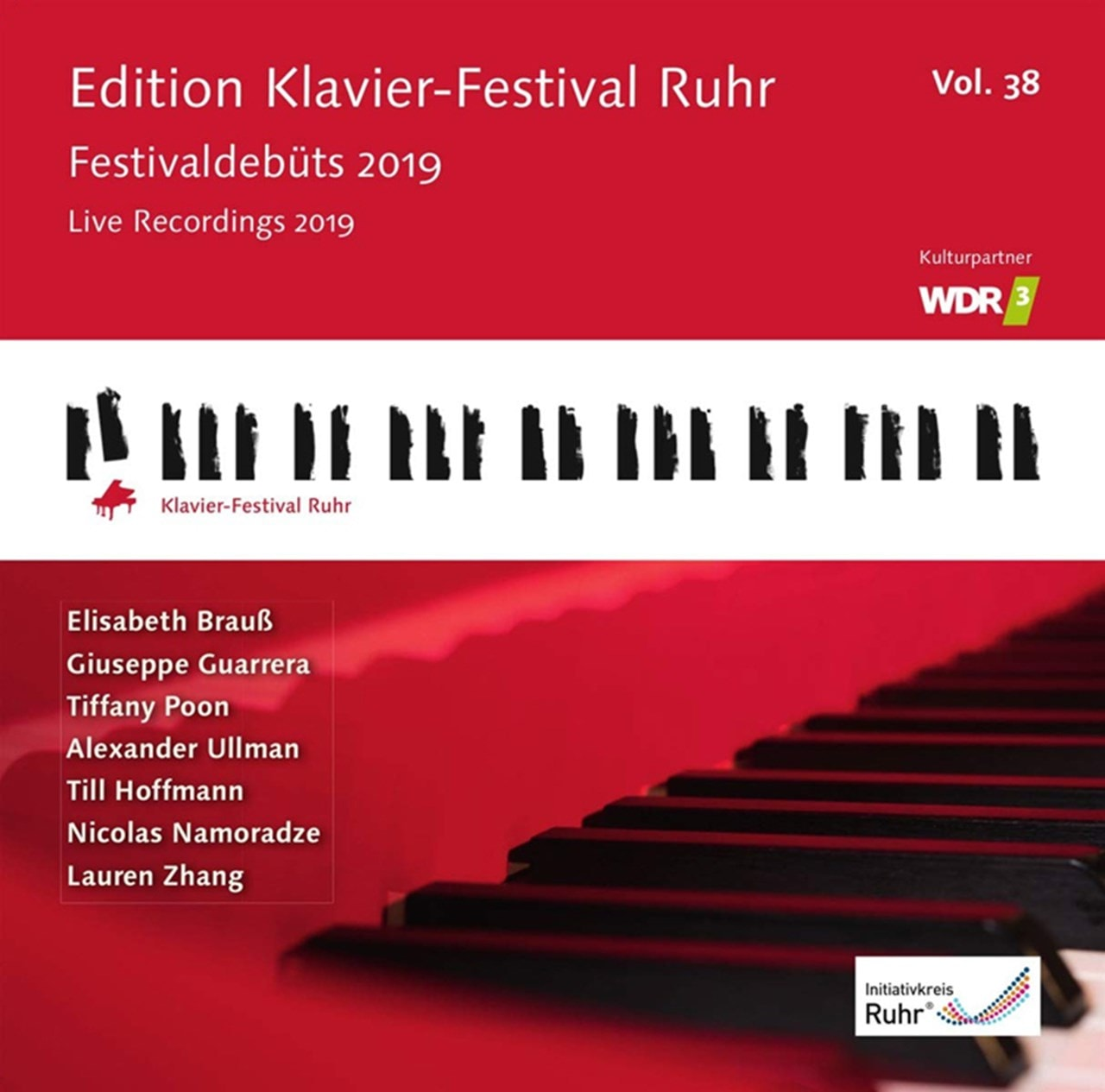 Edition Klavier-Festival Ruhr: Festivaldebuts 2019 - Volume 38 - 1