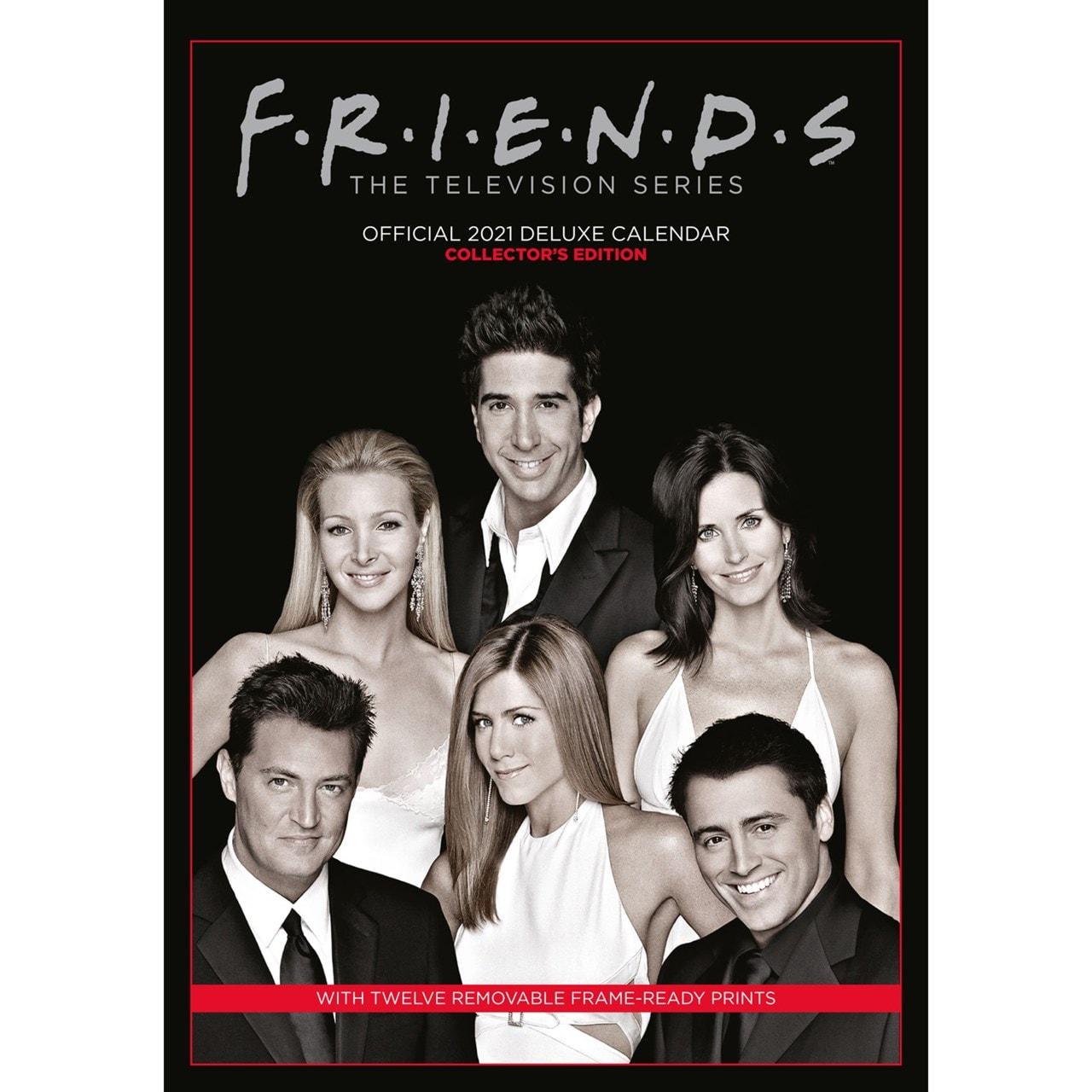 Friends: A3 Deluxe 2021 Calendar - 1
