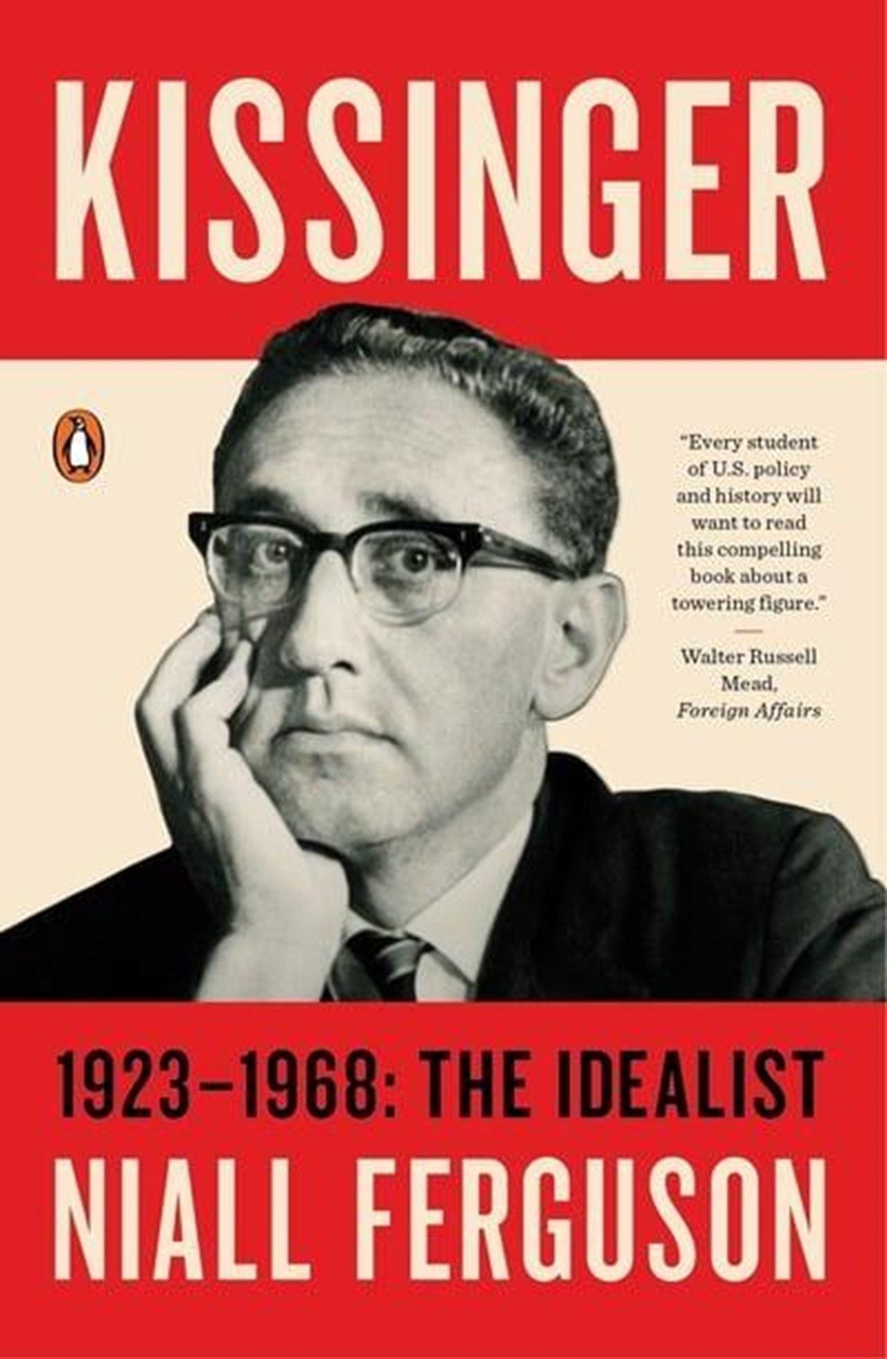 Kissingger: 1923-1968 - The Idealist - 1