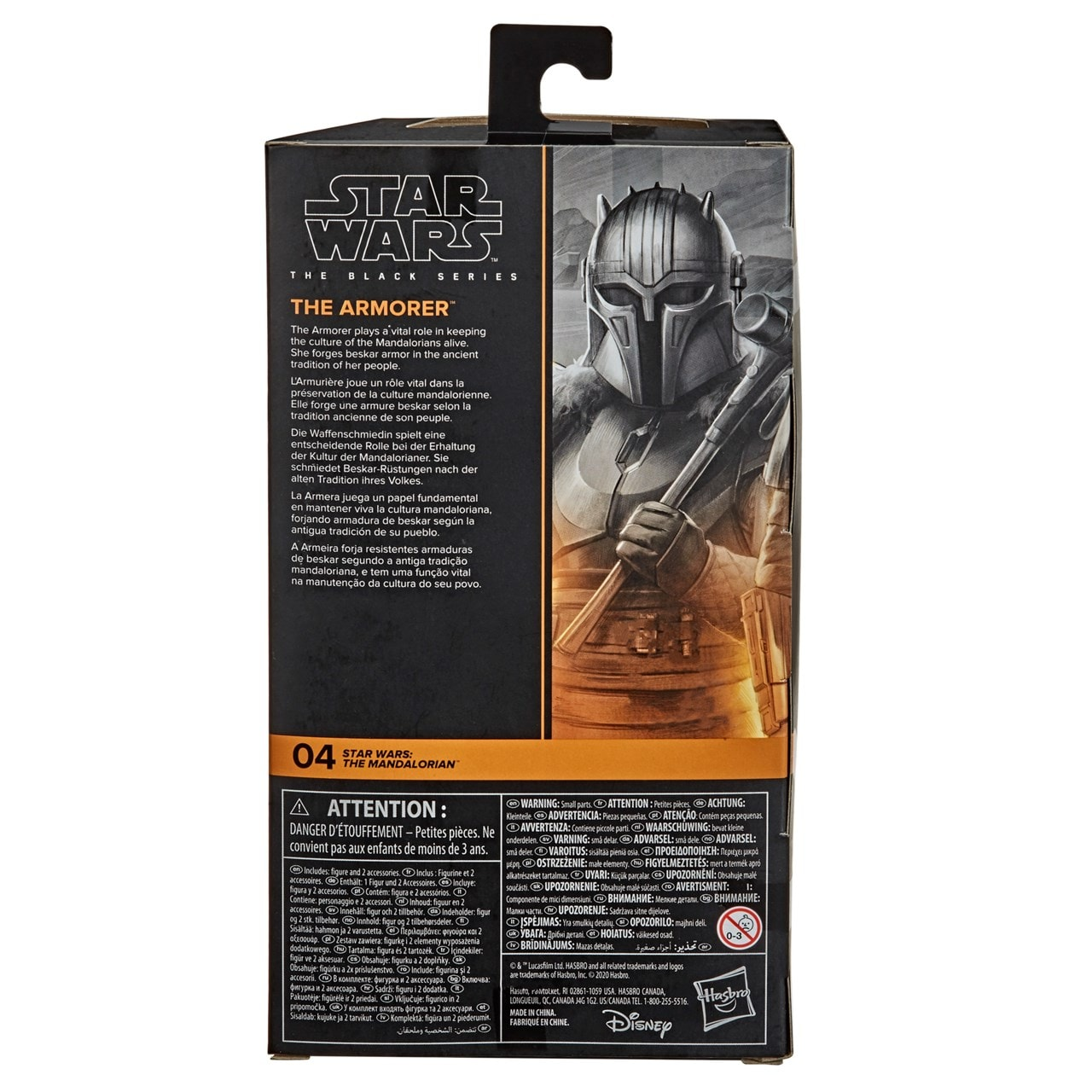 The Armorer: The Mandalorian: The Black Series: Star Wars Action Figure - 5