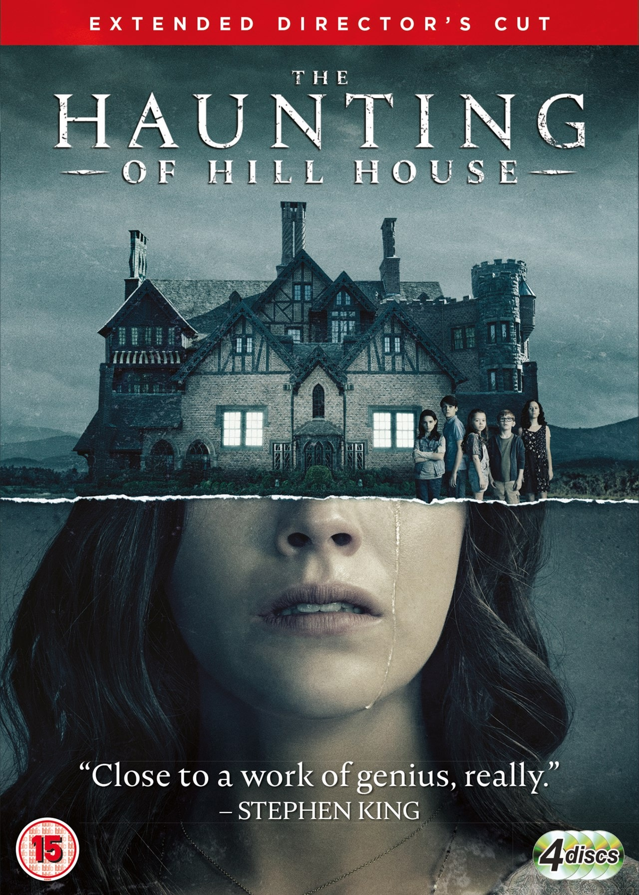 The Haunting Of Hill House Season 1 Dvd Box Set Free Shipping Over 20 Hmv Store