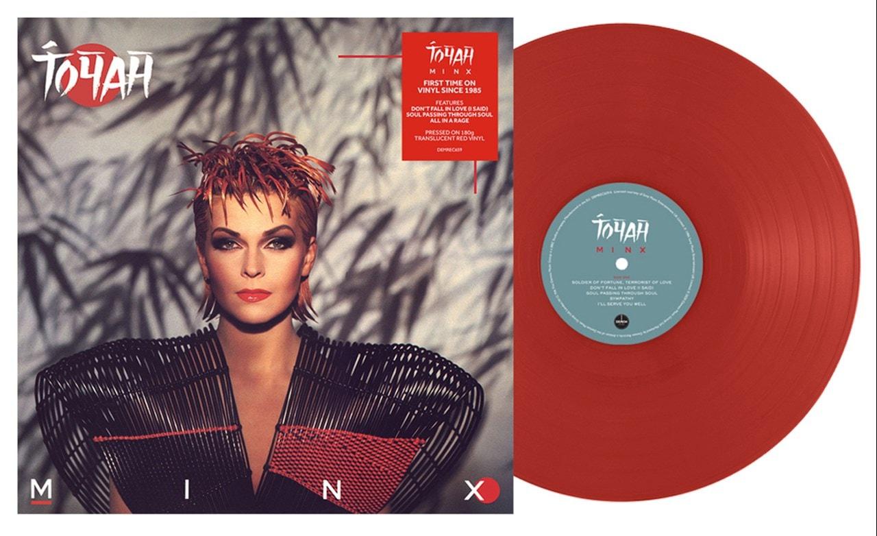 Minx - Limited Edition Translucent Red Vinyl - 1