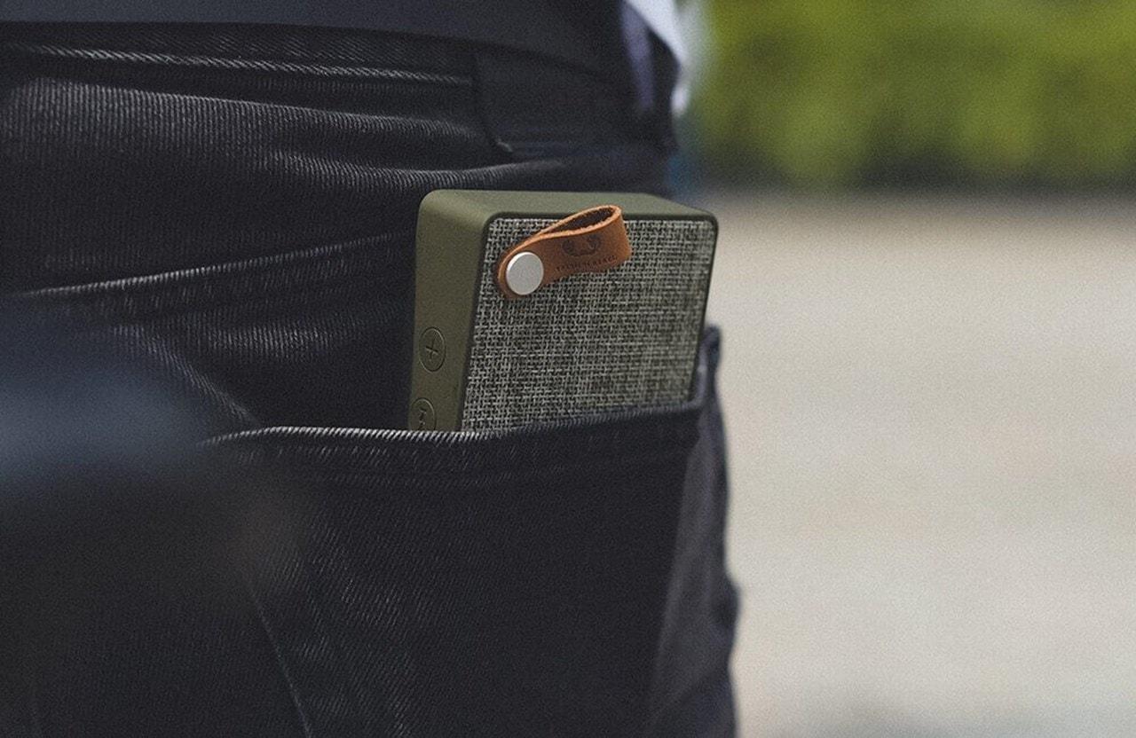 Fresh N Rebel Rockbox Slice Concrete Bluetooth Speaker - 3