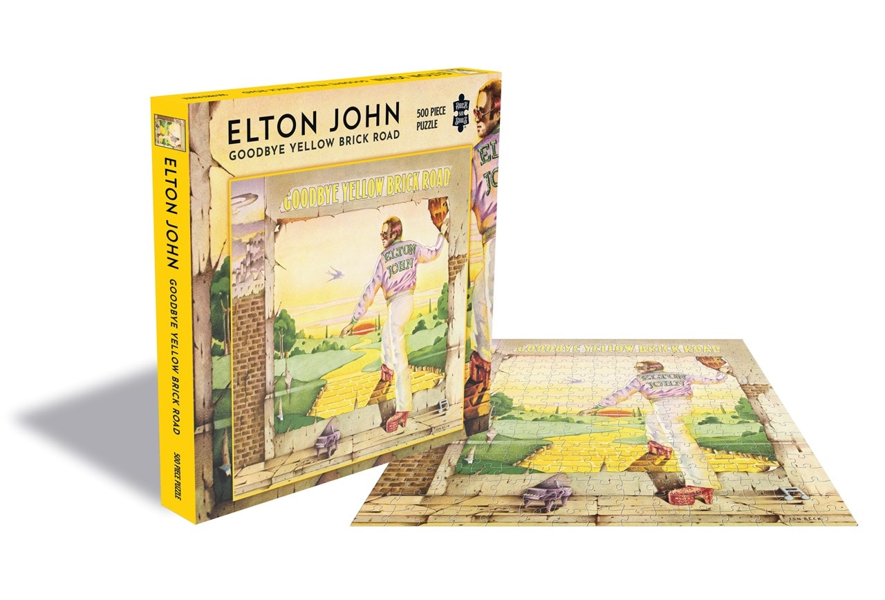 Elton John: Goodbye Yellow Brick Road - 500 Piece Jigsaw Puzzle - 1
