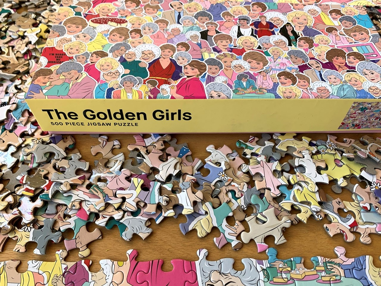 Golden Girls: 500 Piece Jigsaw Puzzle - 1
