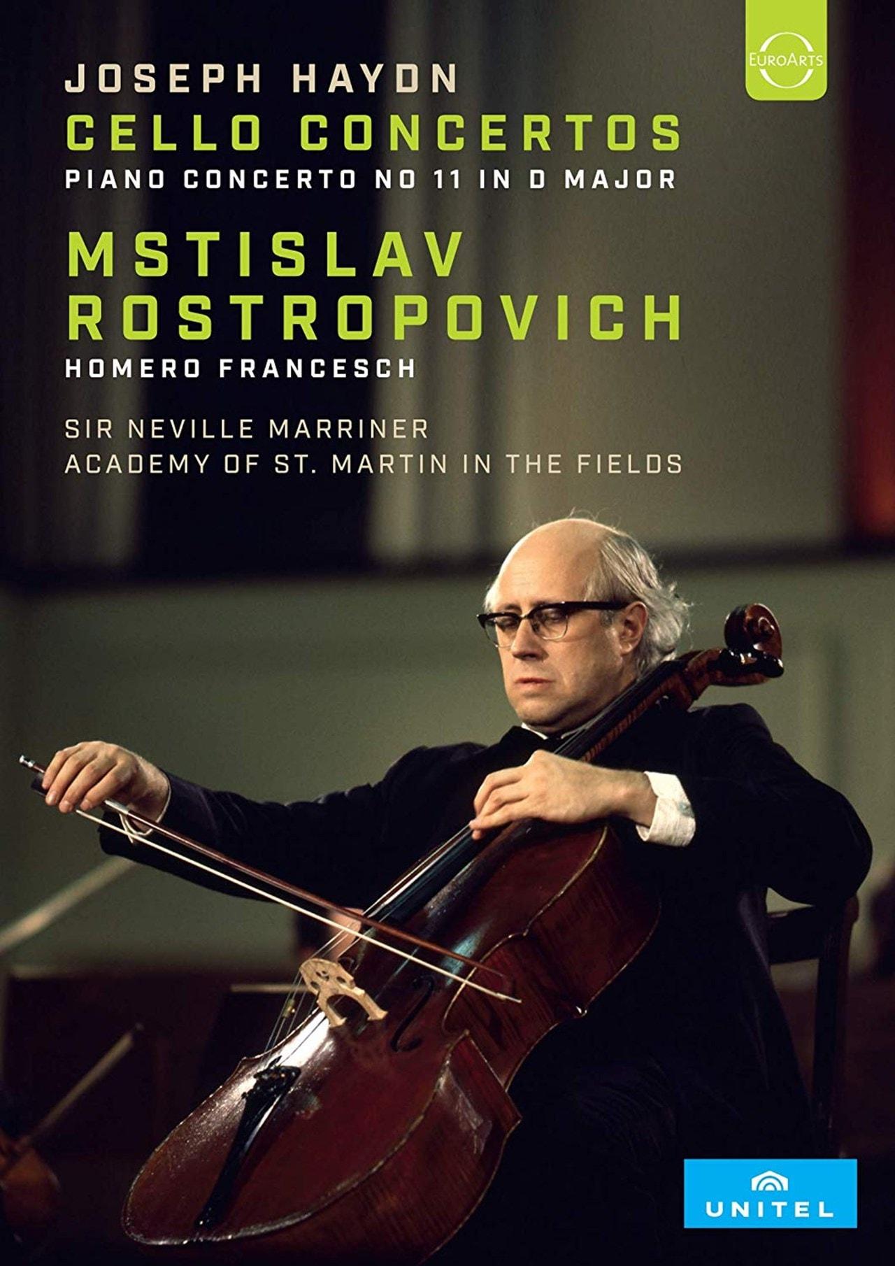 Rostropovich: Rostropovich Plays Haydn Cello Concertos - 1