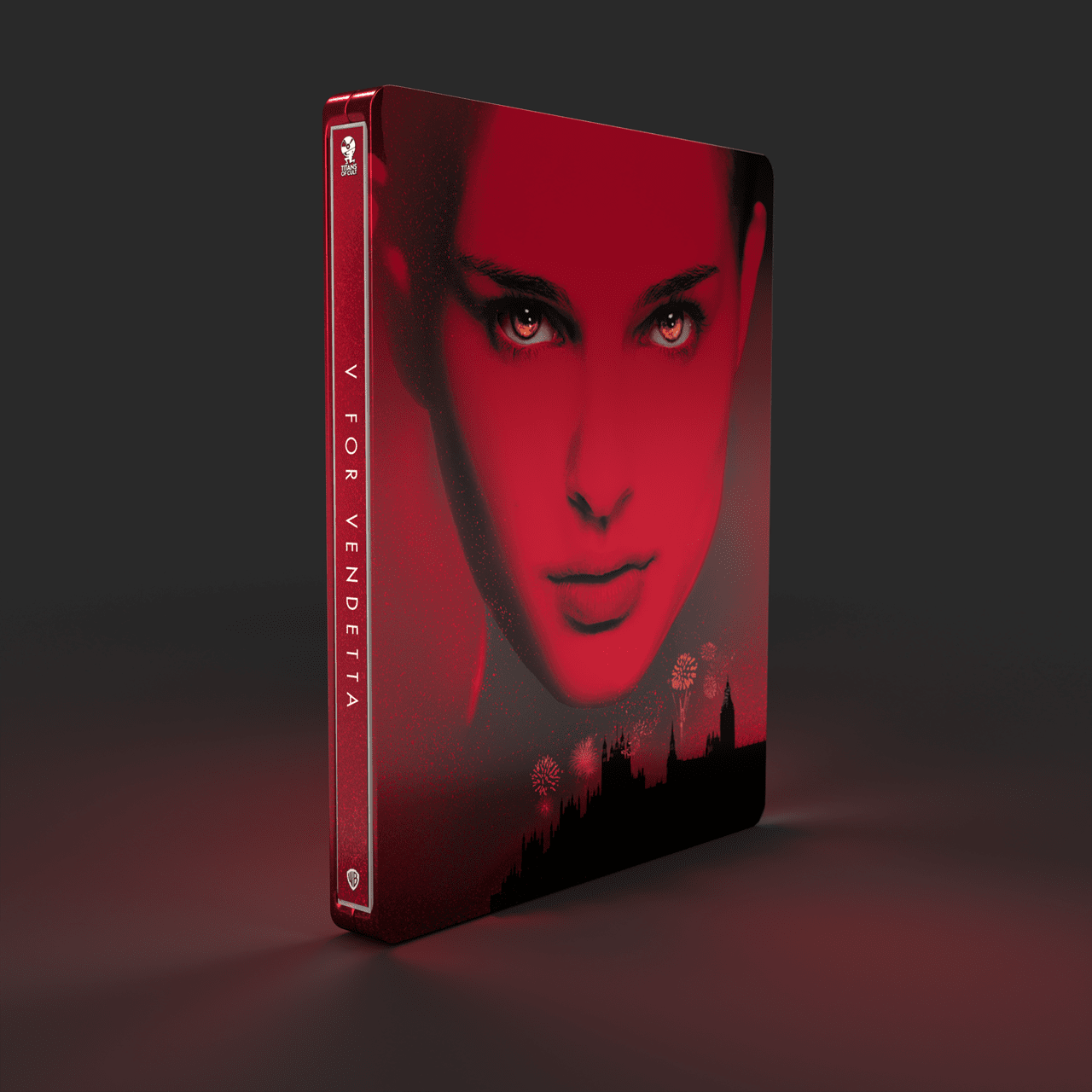 V for Vendetta Titans of Cult Limited Edition 4K Steelbook - 7