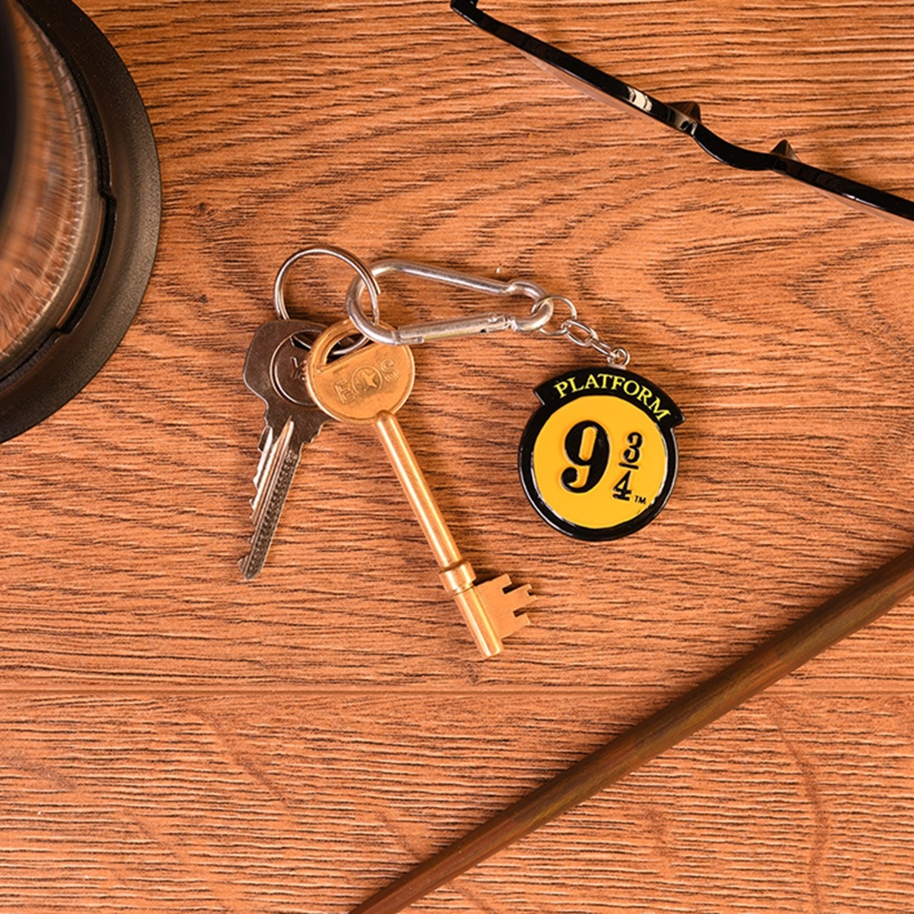 Platform 9 3/4: Harry Potter 3D Keychain - 1