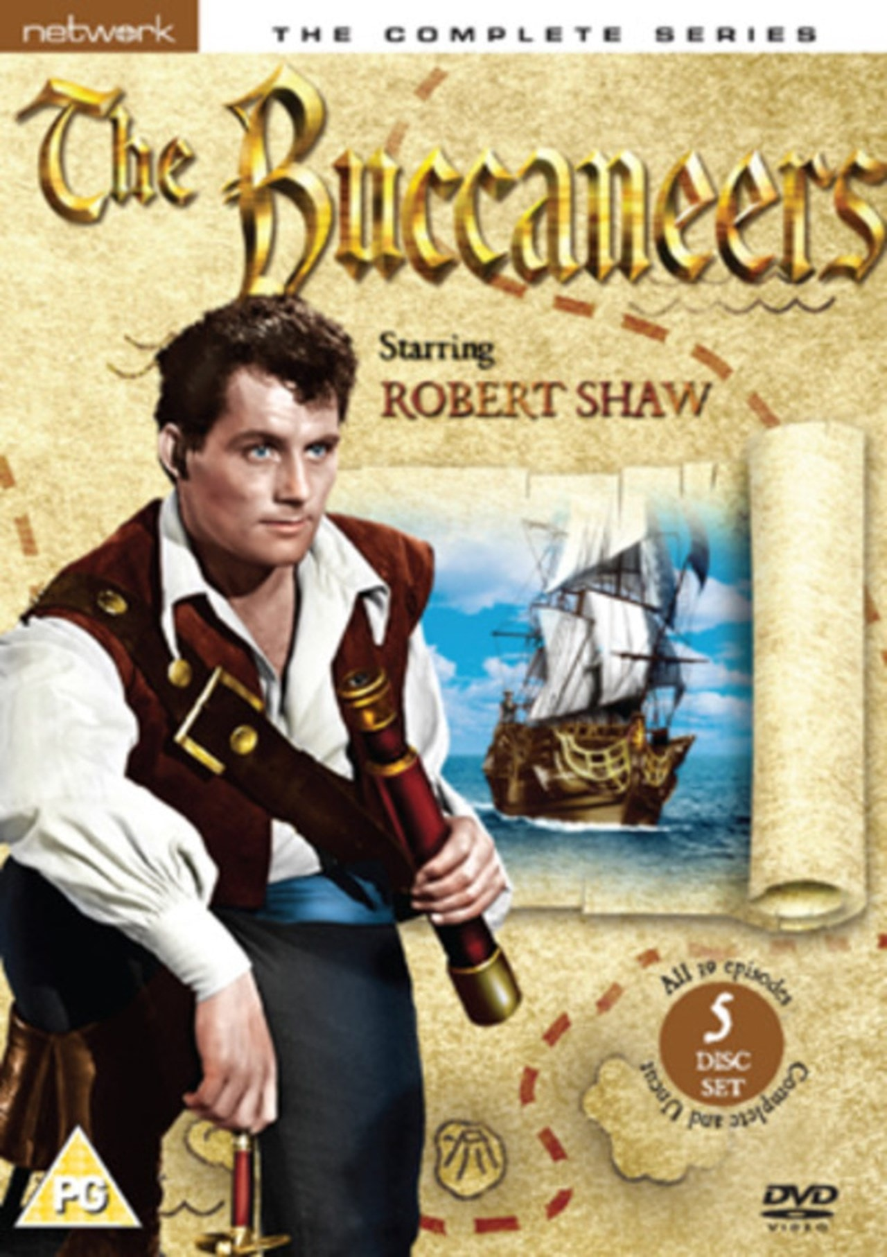 The Buccaneers: The Complete Series - 1