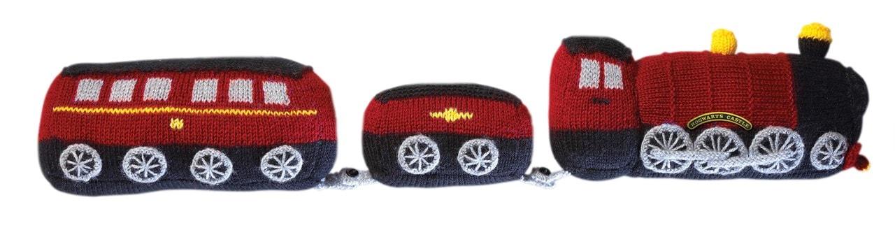 Hogwarts Express Draught Excluder: Harry Potter Knit Kit - 5